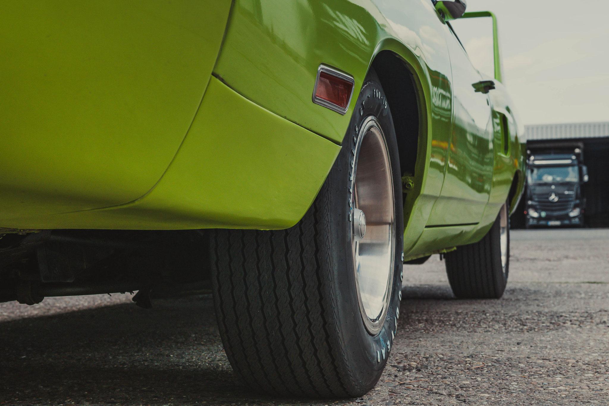 Plymouth Superbird Detail Aufnahmen