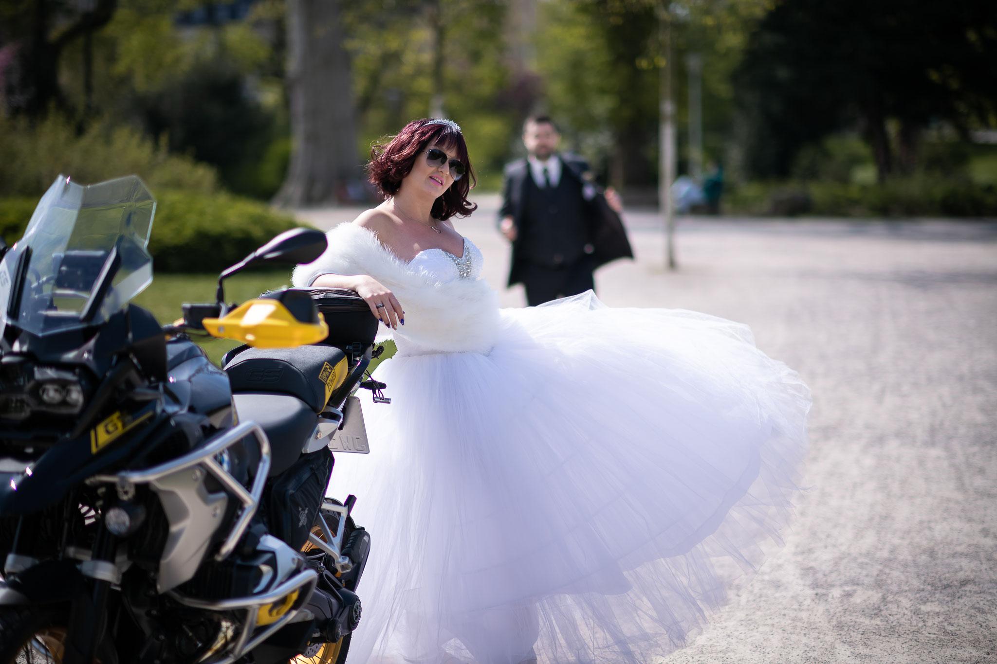 Pompöse Ideen für das Brautpaarshooting