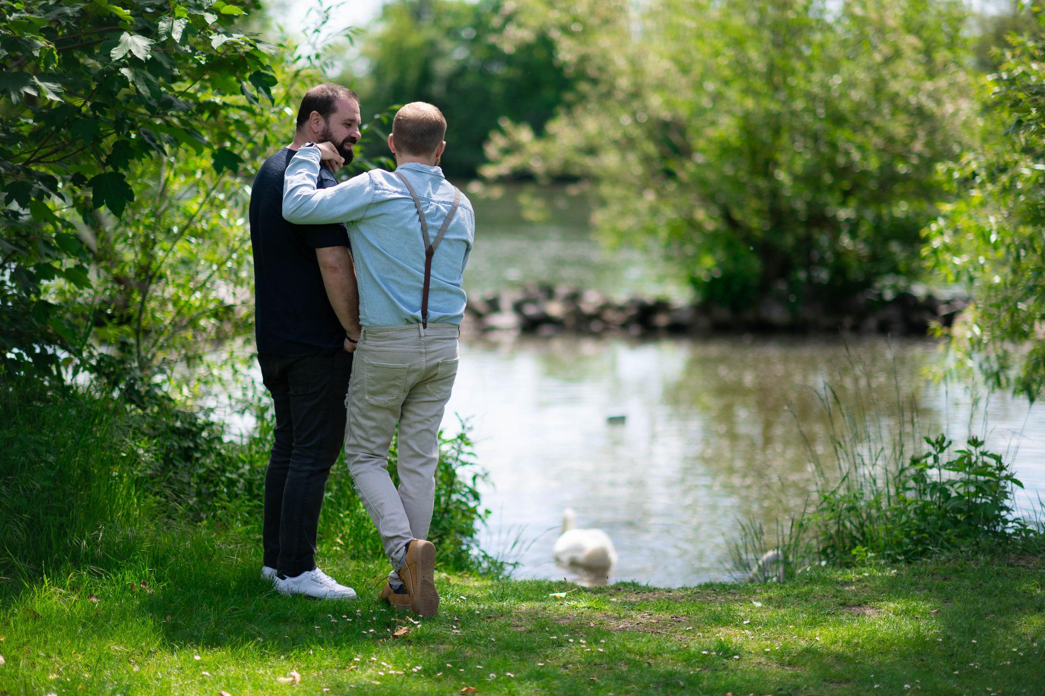 Engagement-Shooting für Paare in Hanau am Main