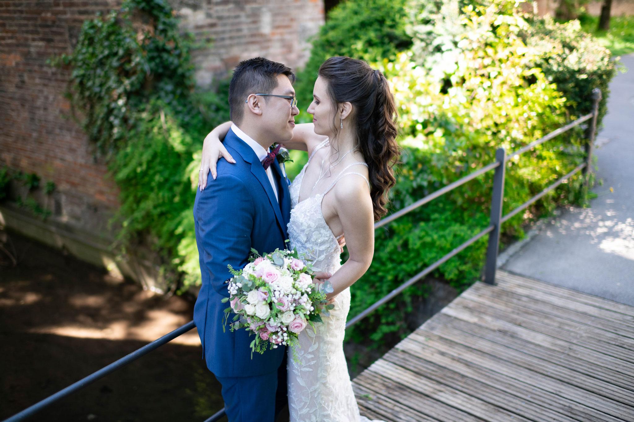Meine Hochzeit vom Kamerateam filmen lassen