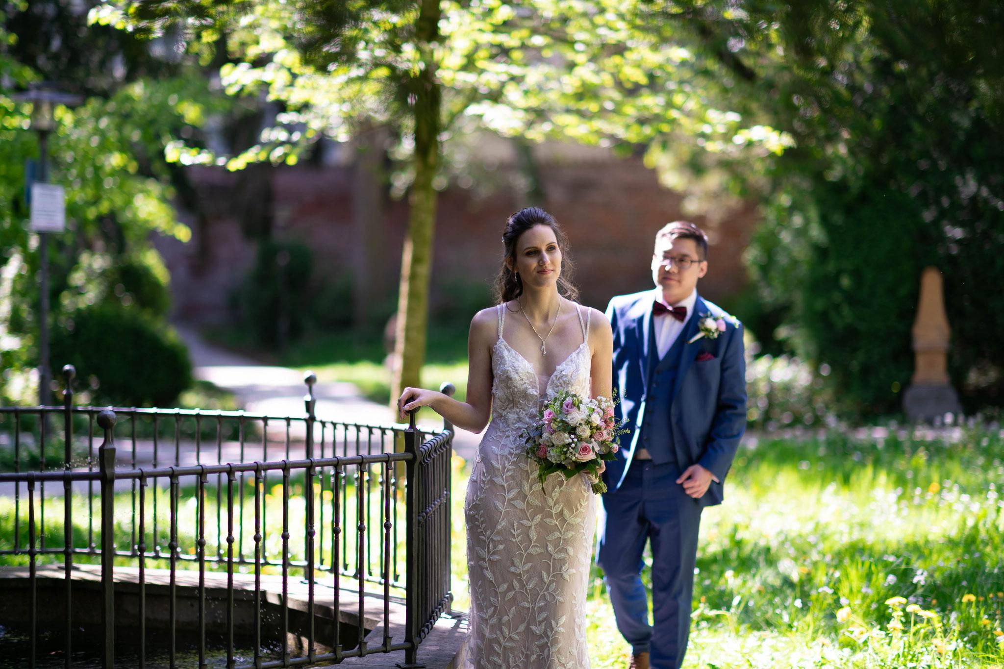 Ausgefallene Hochzeitsfotos meiner Hochzeit in Memmingen und Bayern