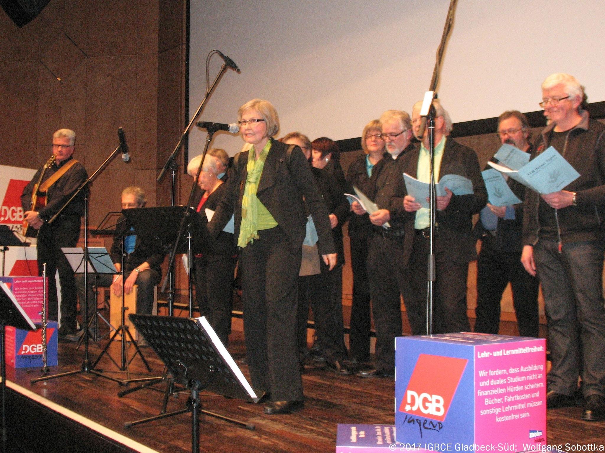 DGB Neujahrsempfang in Gladbeck. Fotos: IG BCE Gladbeck-Süd, Wolfgang Sobottka