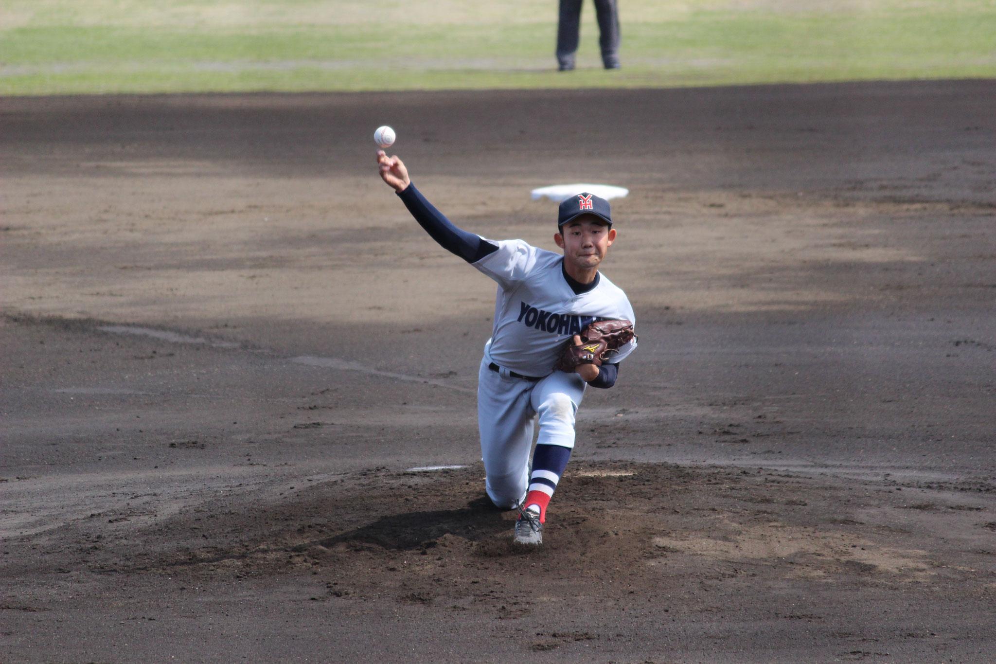 【横浜高校 塩原陸】春季大会 2回戦vs藤沢西