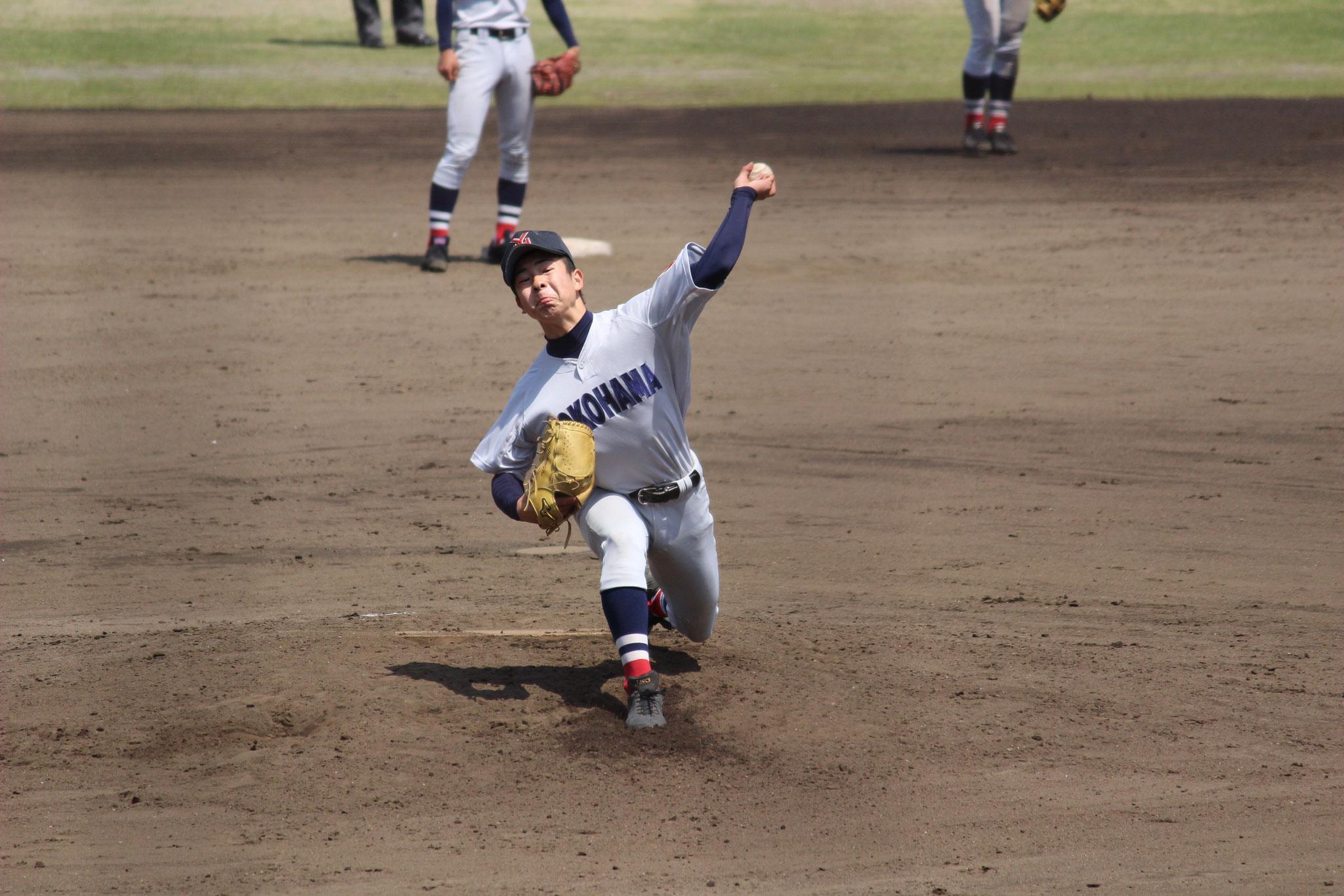 【横浜高校 板川佳矢】春季大会 2回戦vs藤沢西