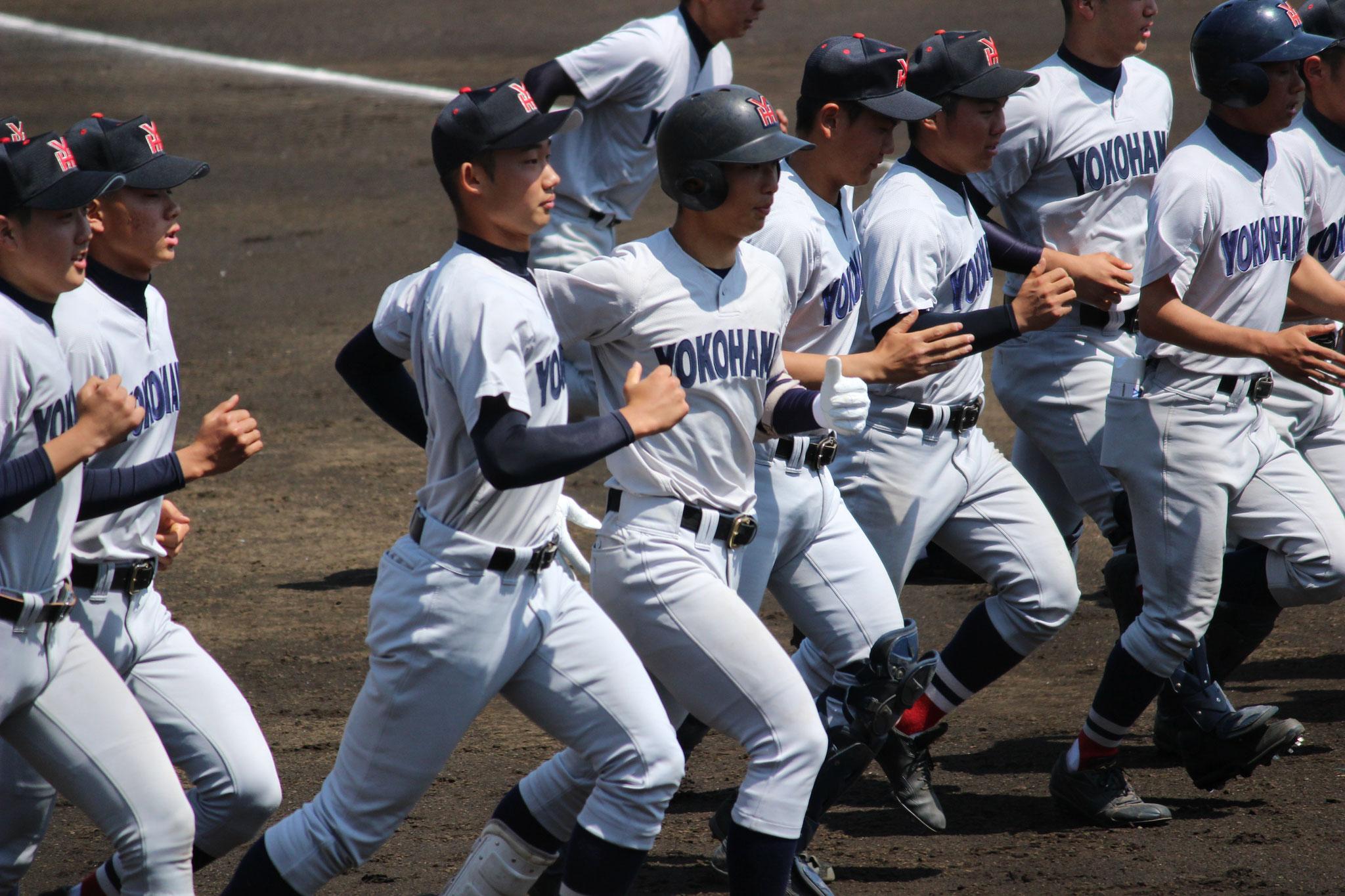横浜高校 攻撃vs星槎国際湘南 本田仁海