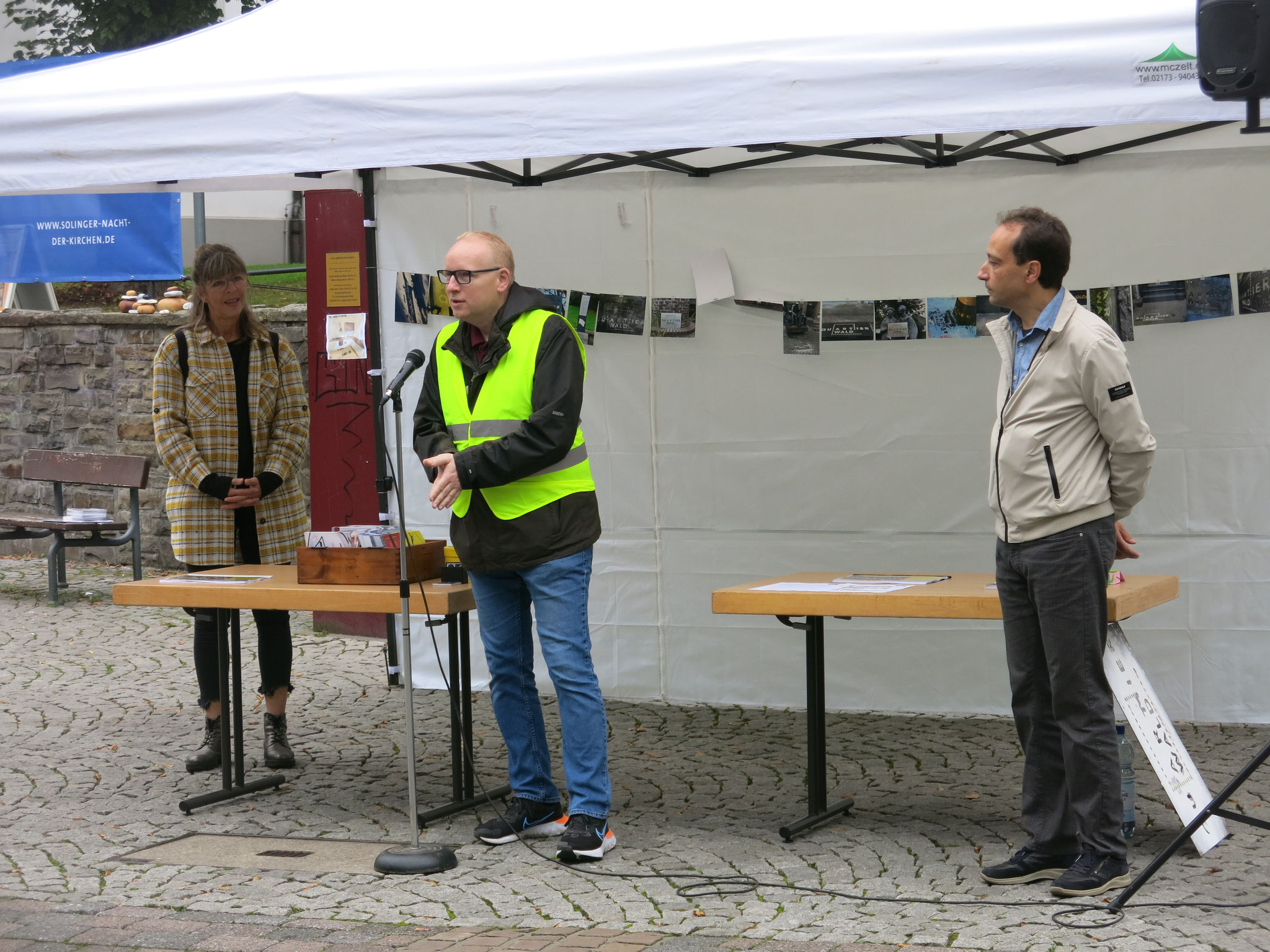 Begrüßung Markus Loerzer (Sparkasse SG-Wald)