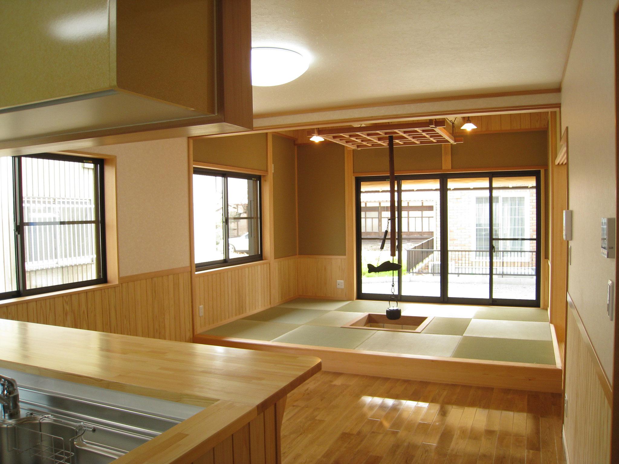 人気の小上がりのある和室