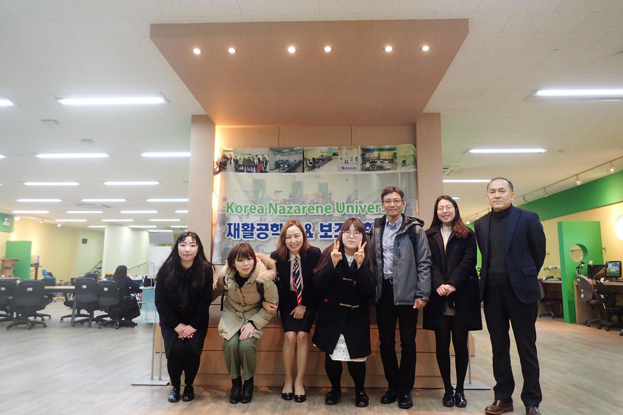 キャンパス内がまさにインクルーシブな環境の韓国ナザレ大学