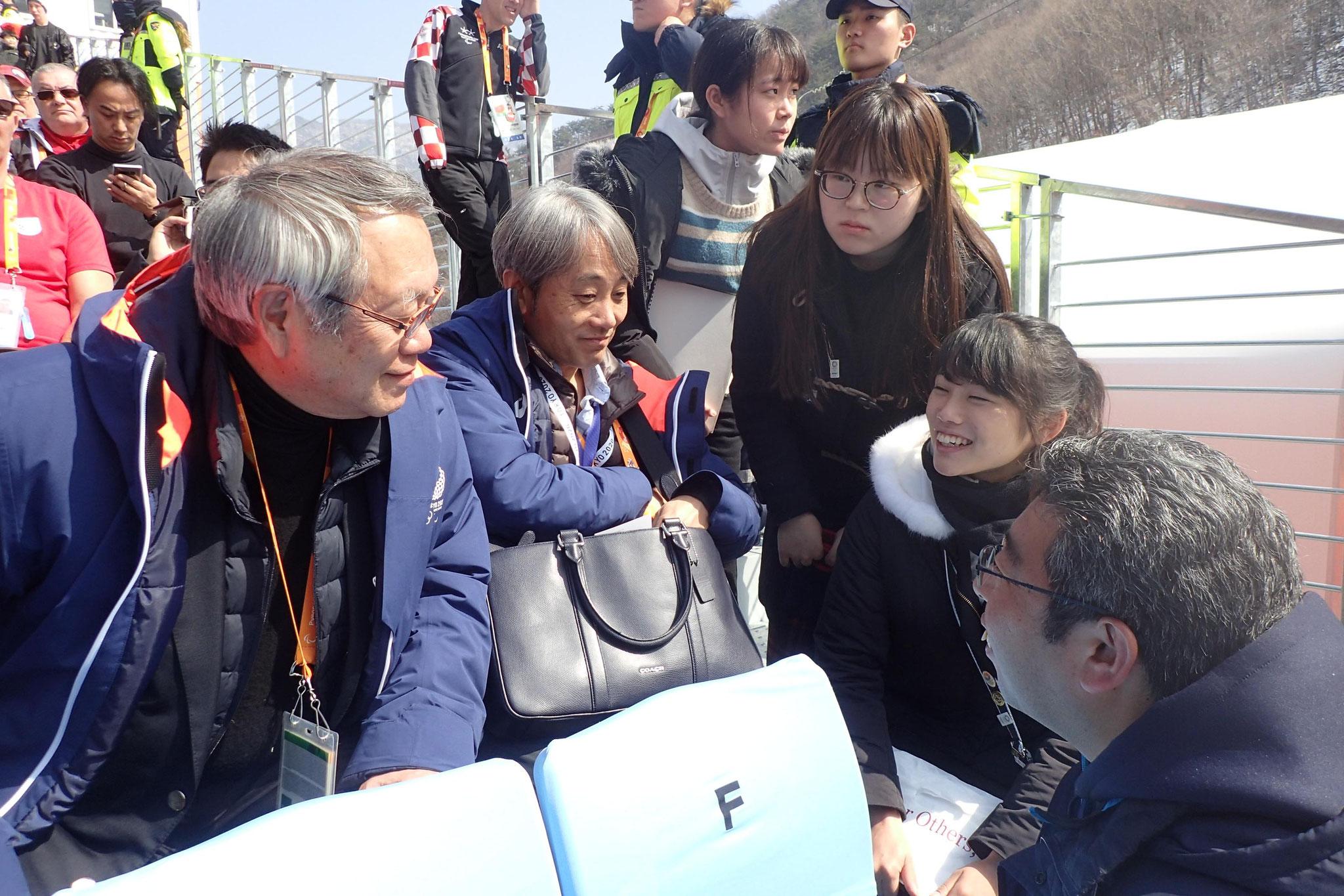 東京2020オリンピック・パラリンピック競技大会組織委員会河野副会長に学生がインタビュー