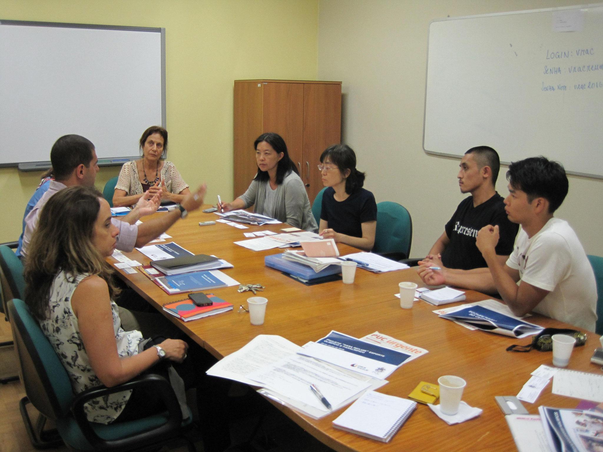 リオカトリック大学(PUC-RIO)での取り組みを伺いました