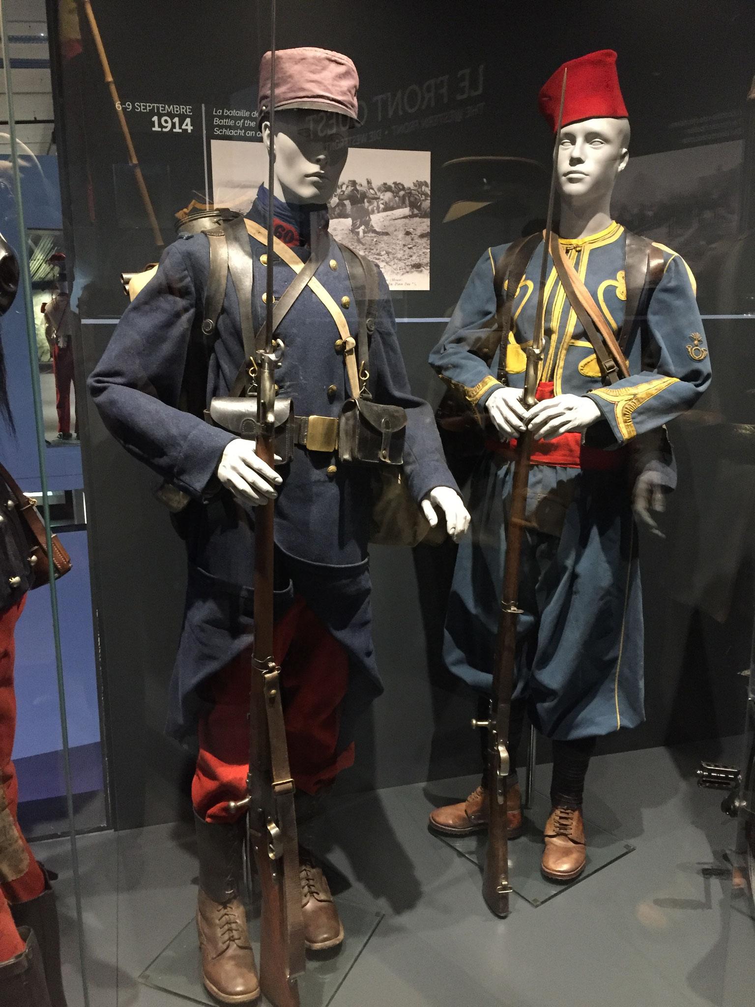 Au musée des guerres en Ardennes à Nouvion-Porcien