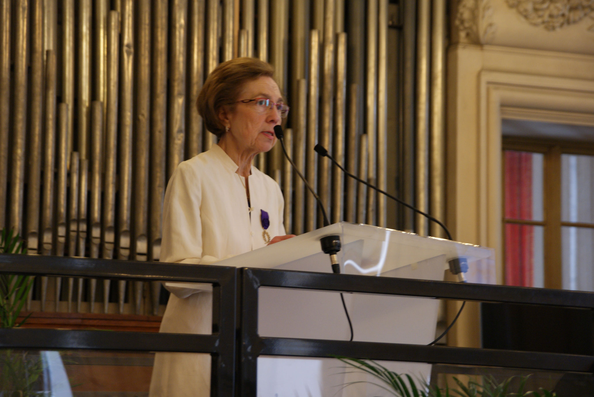 Mme N. Bauchet, présidente de l'Amopa 51