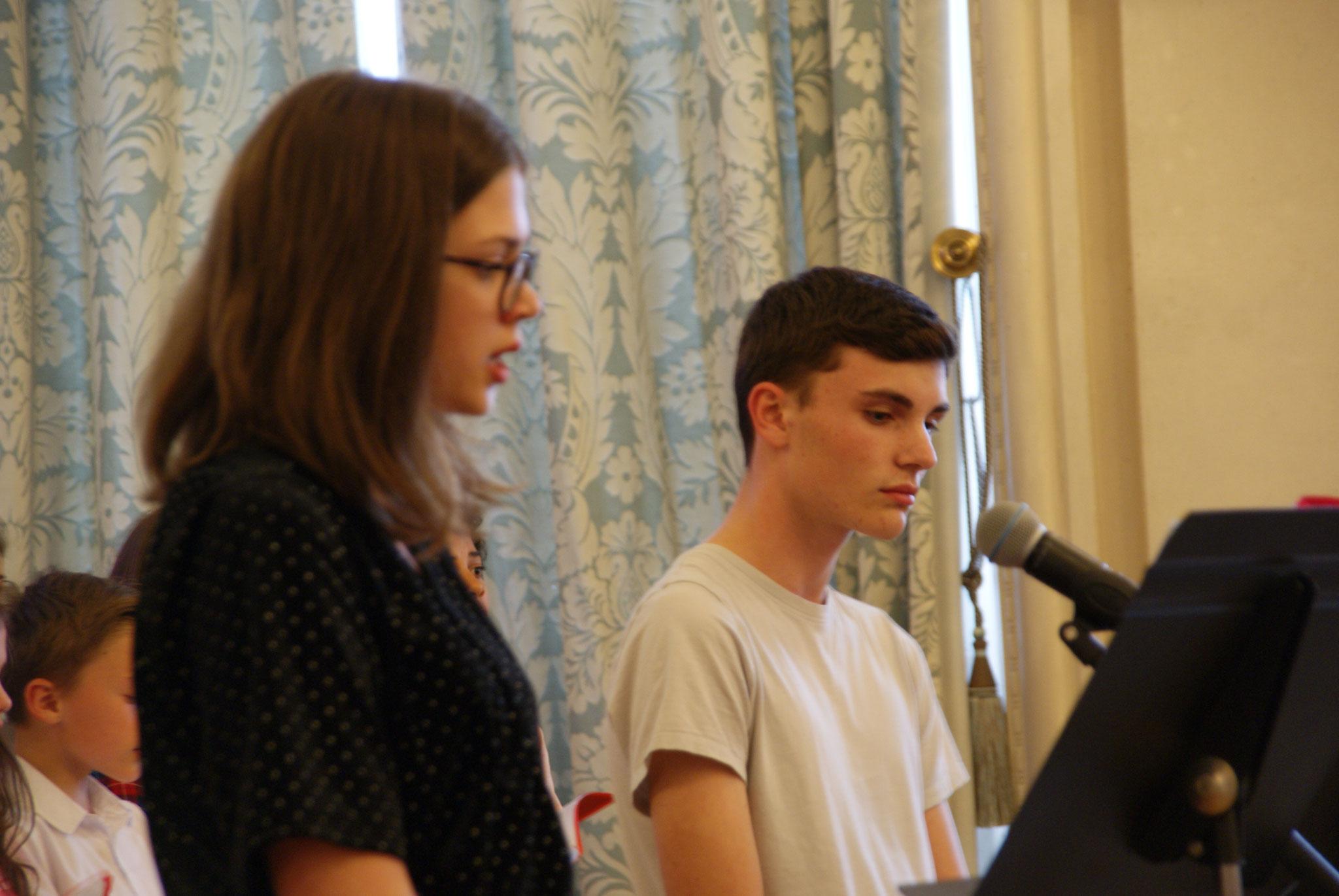 Solistes de la chorale du collège Saint-Remi