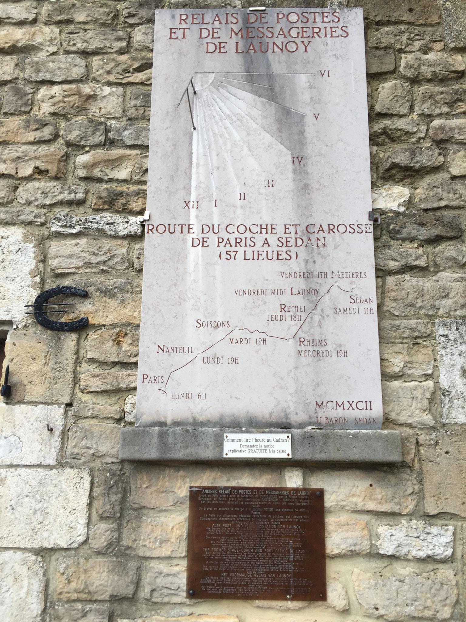Itinéraire de Paris à Sedan