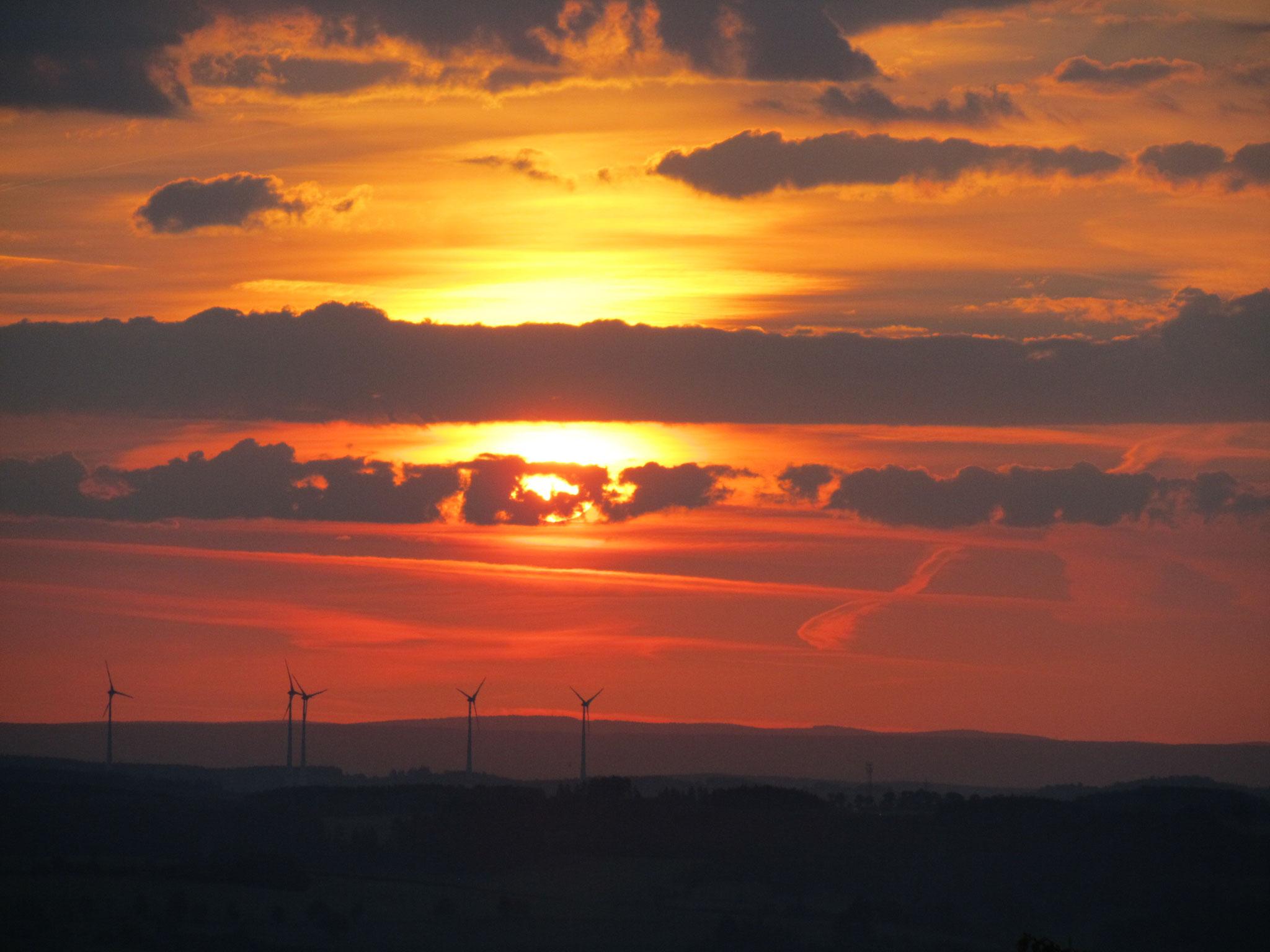 Sonnenaufgang am Erzengel