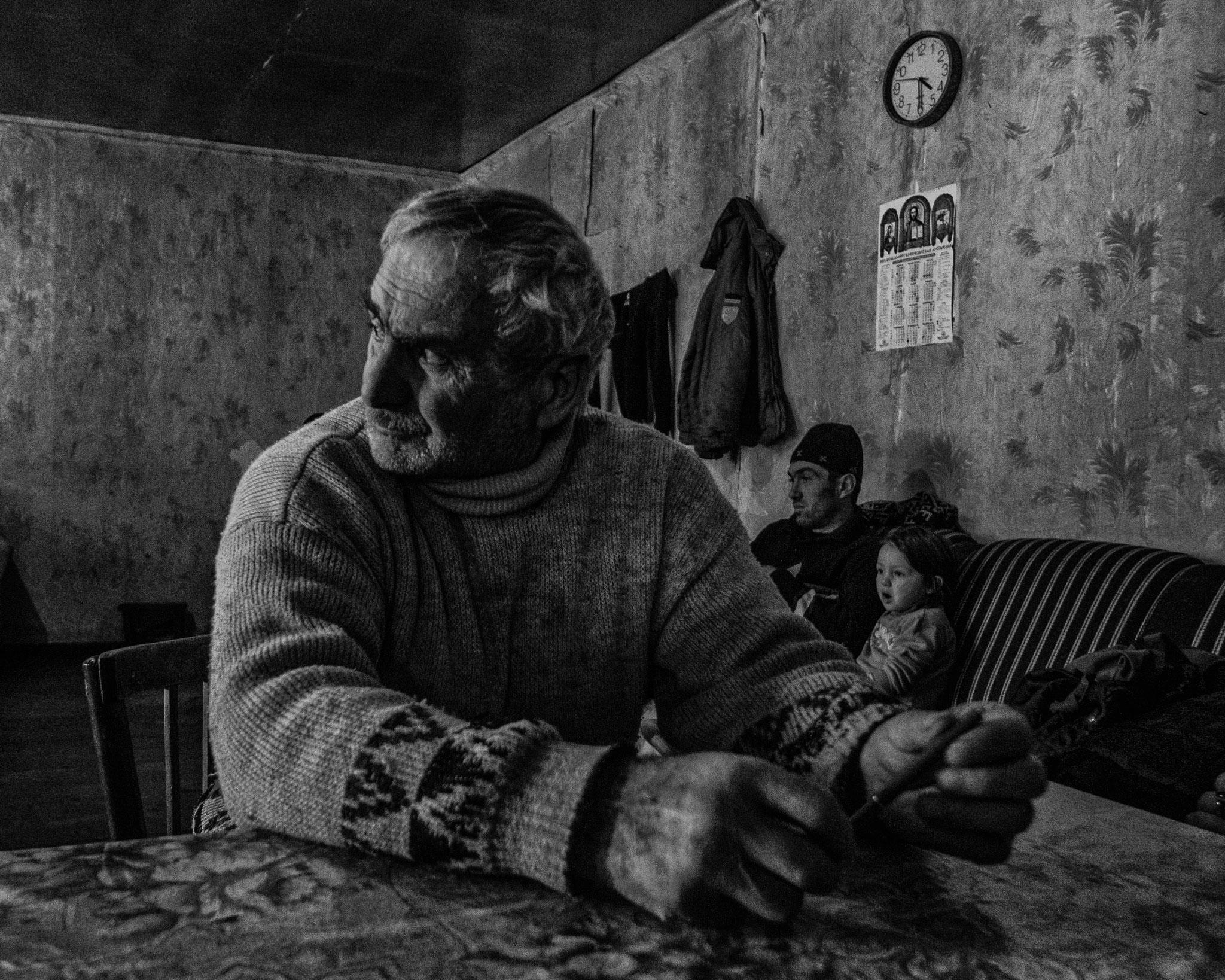 IDPs from Abkhazia, Swanety Maountain, Georgia