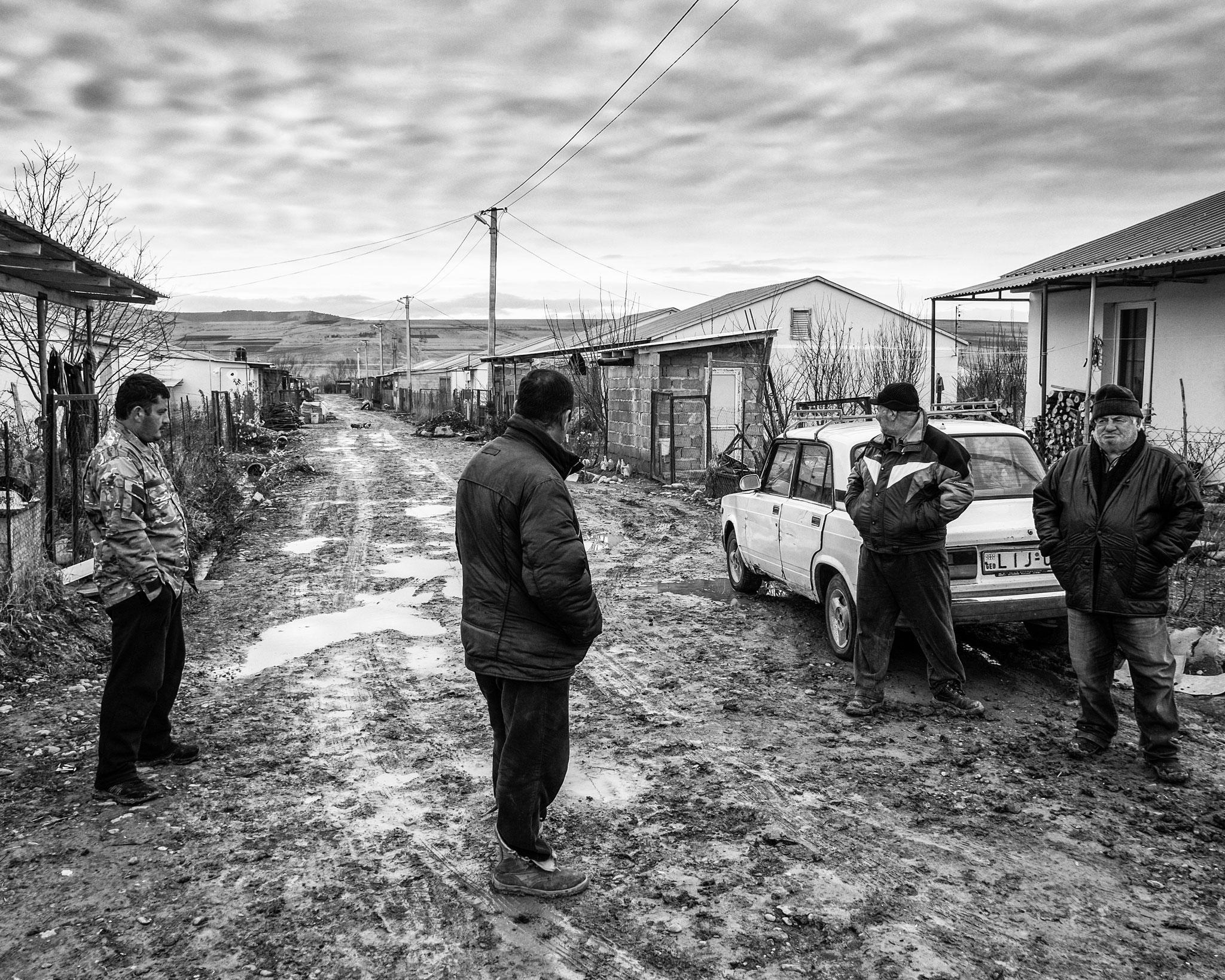 IDP from South Ossetia, Camp near the Border, Georgia