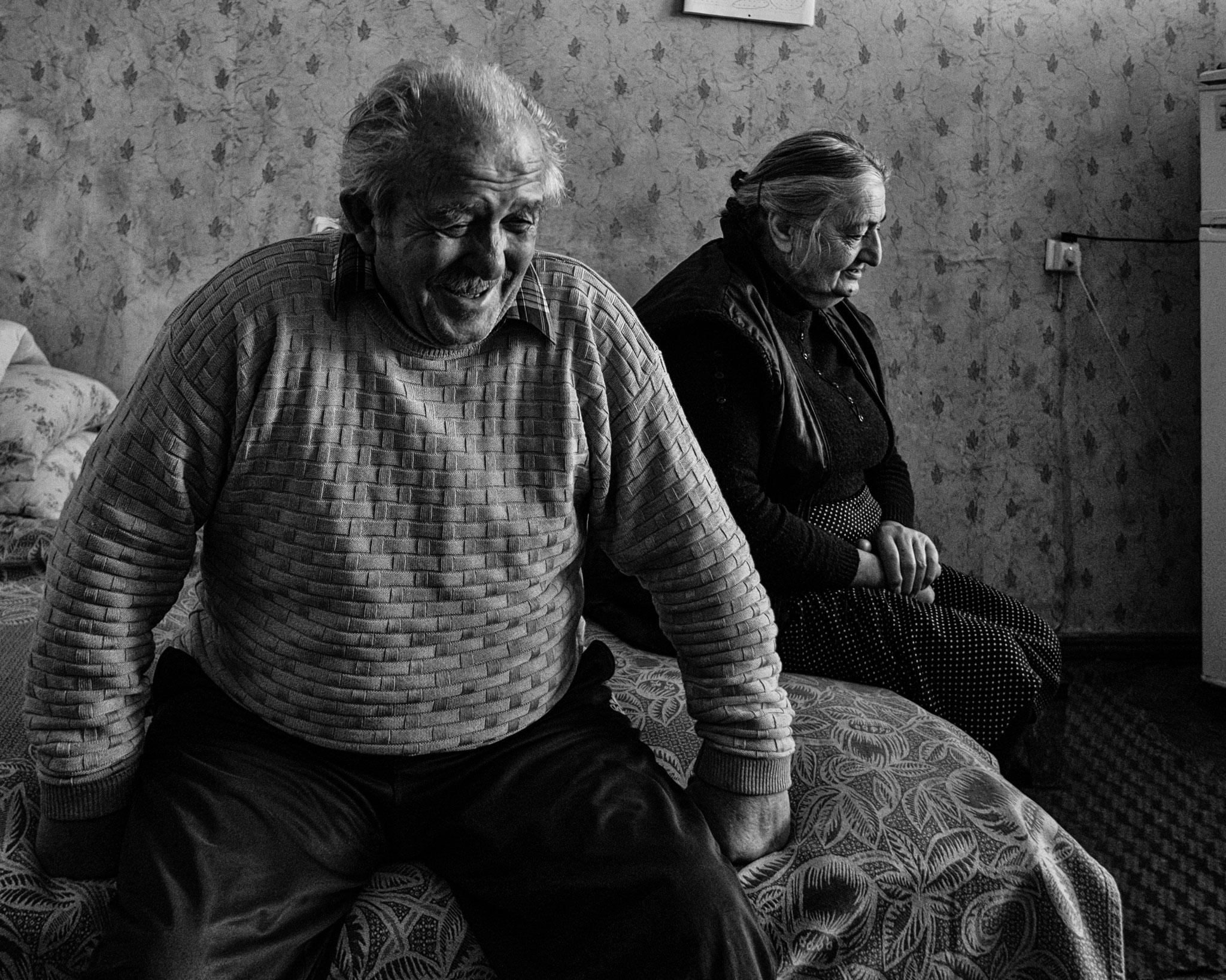 IDP from Abkhazia, Tsakltubo, Georgia
