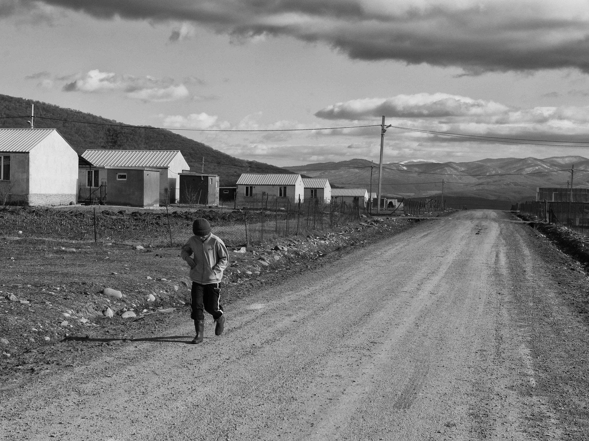 Bay in IDP Camp Preseti, Georgia