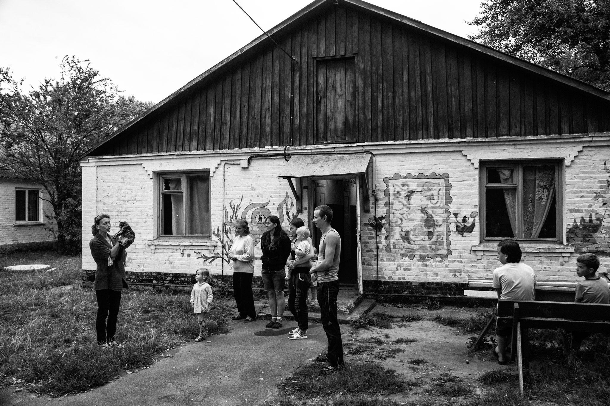 IDP Camp, former youth camp, near Vinitza, 2016