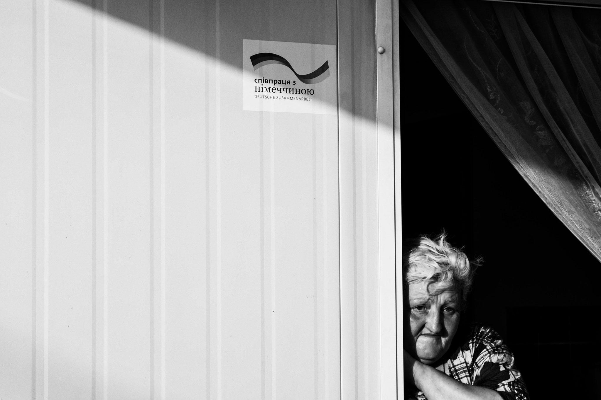 IDP Camp, Charkiv 2016