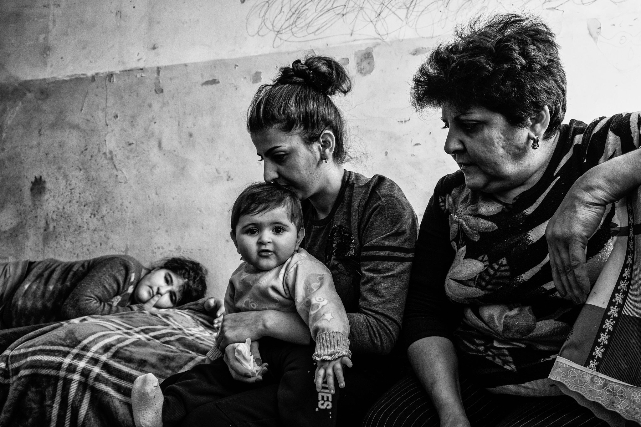 3 generations. Dormitory, Yerevan