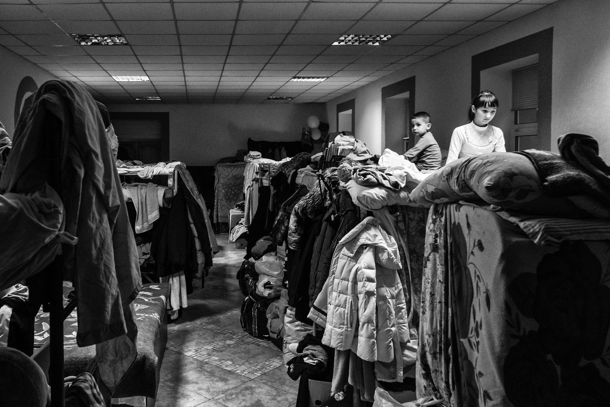 Collective House for IDPs, a former Kindergarden, Kiev Nov. 2014