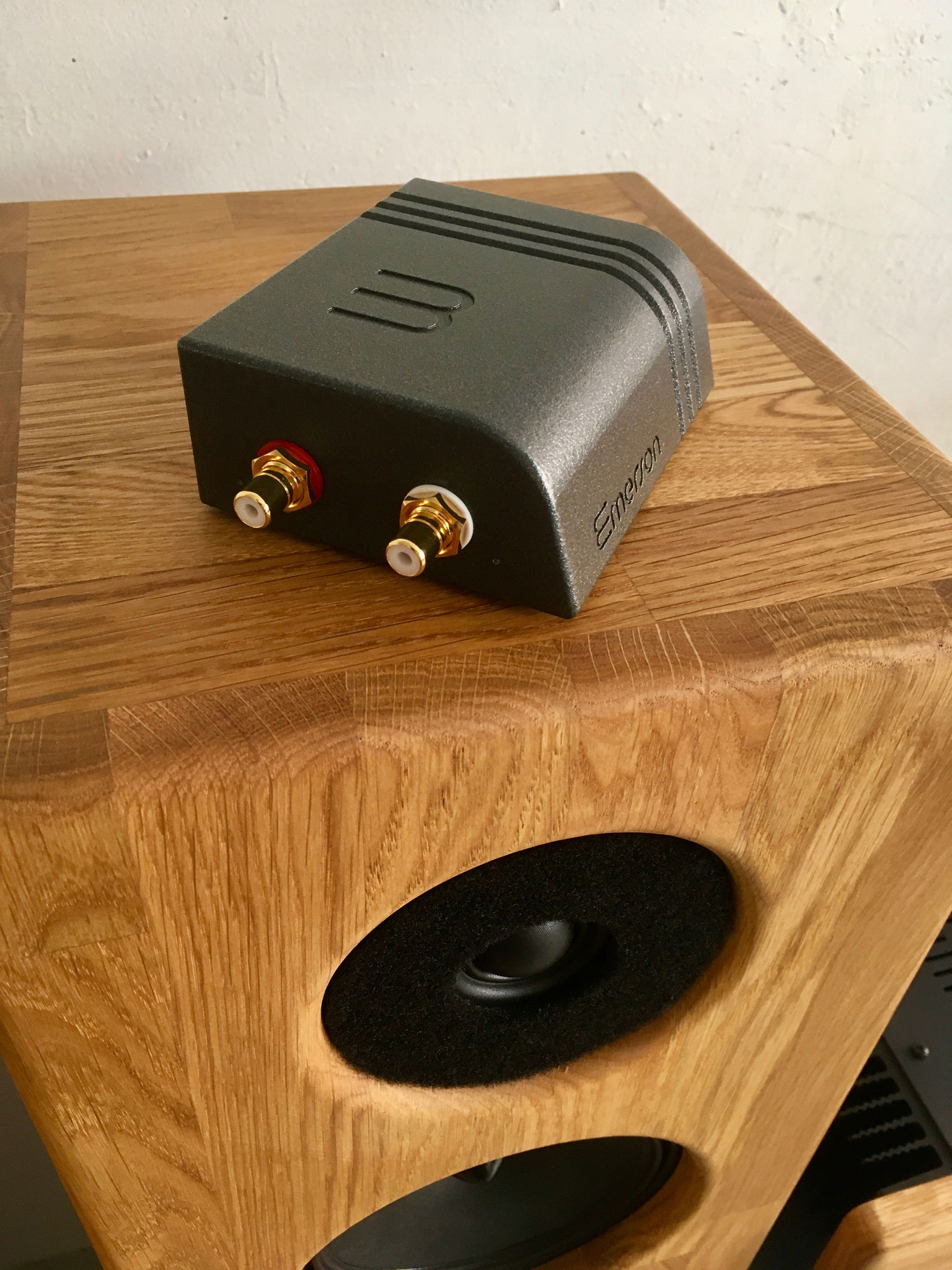 Streamer audio Wattson Audio Emerson Analog - Enceinte acoustique De Haller Dina 6