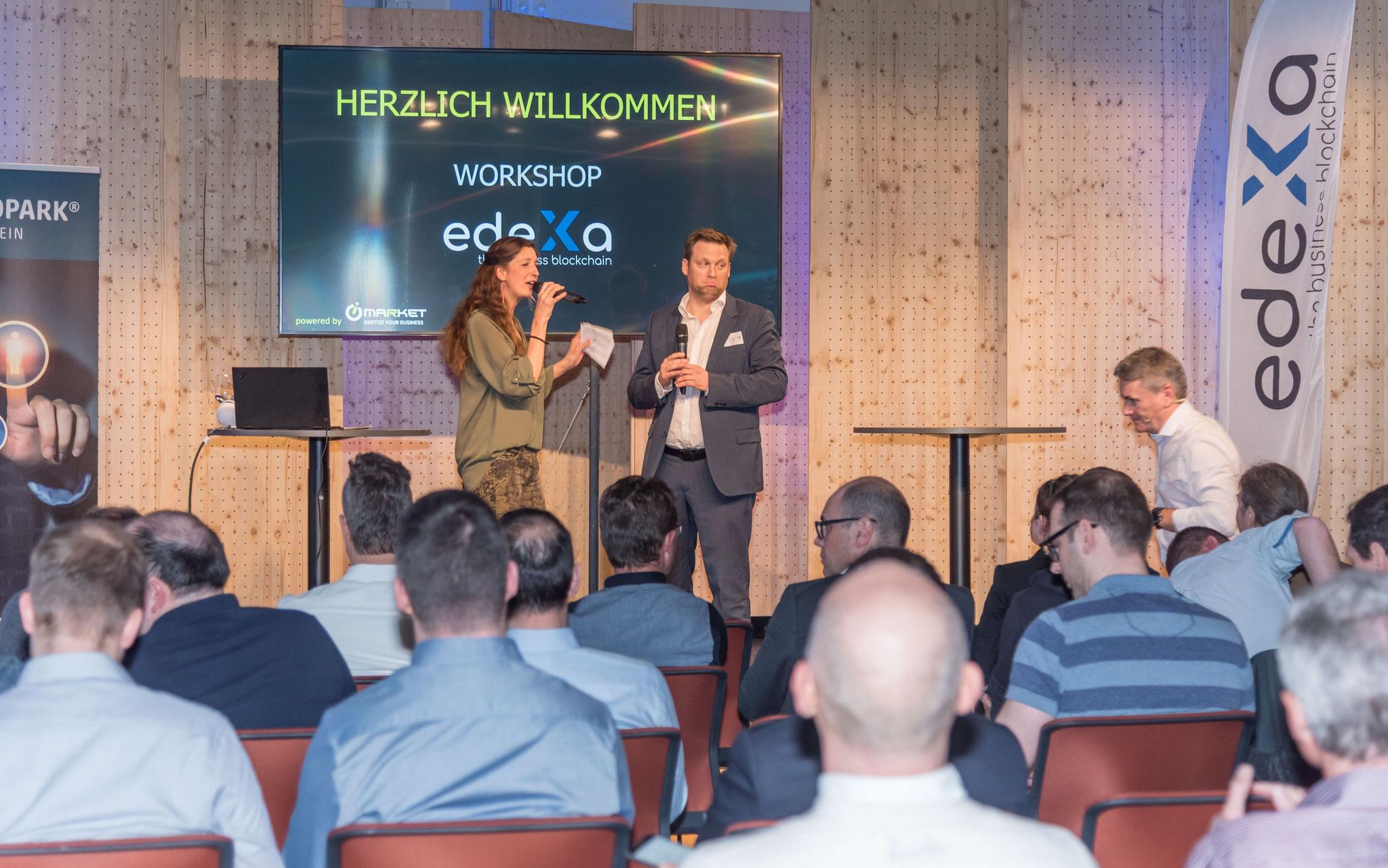 Blockchain-Event, edeXa AG Liechtenstein