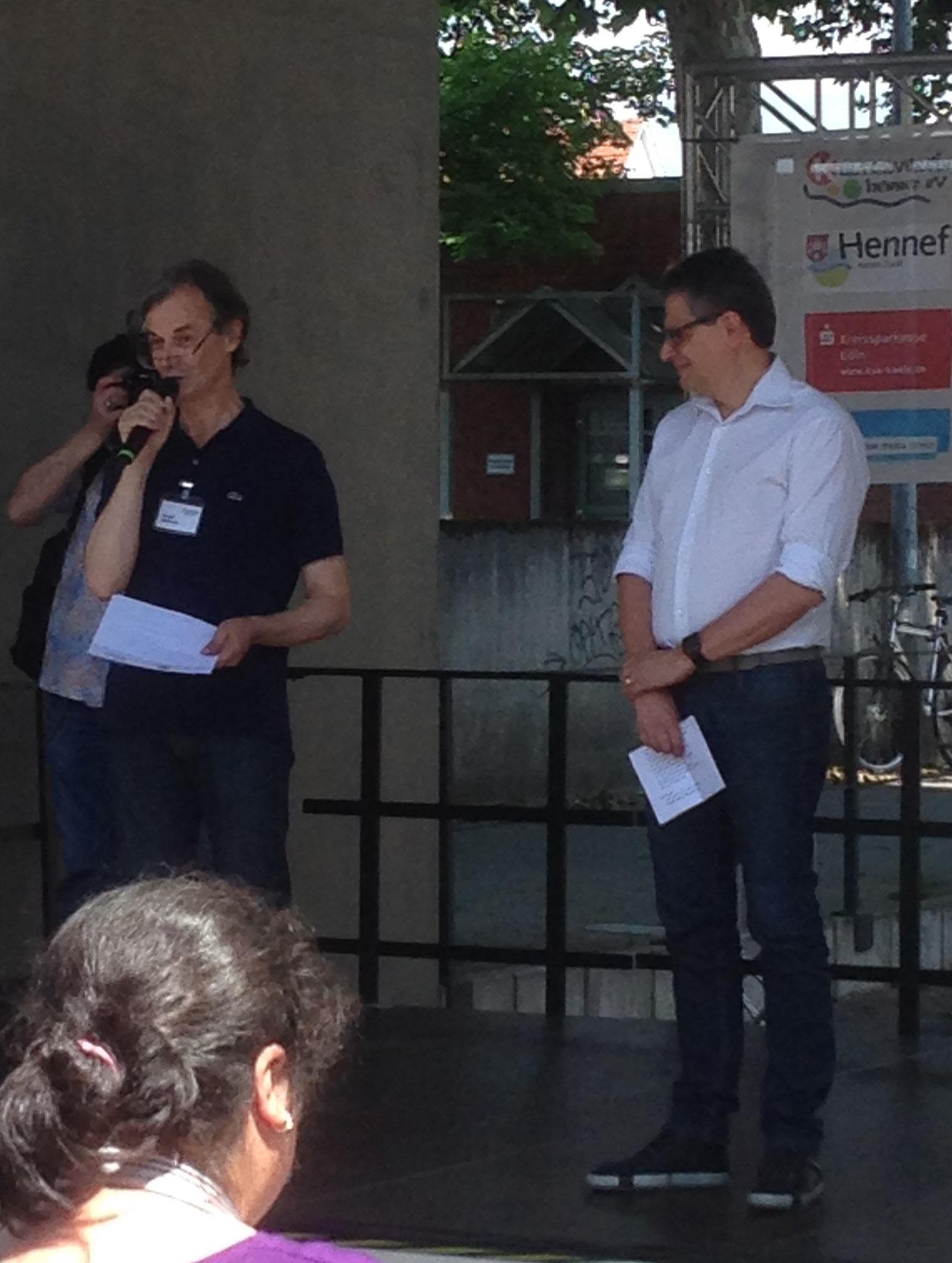 Begrüßung und Einführung durch Gerald Steinmetz und Klaus Pipke