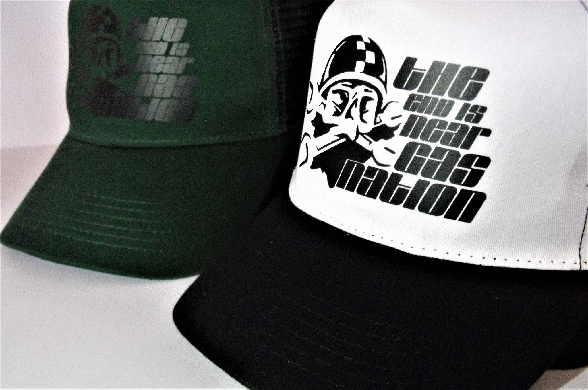 "Casquettes trucker ""Gas Nation"""