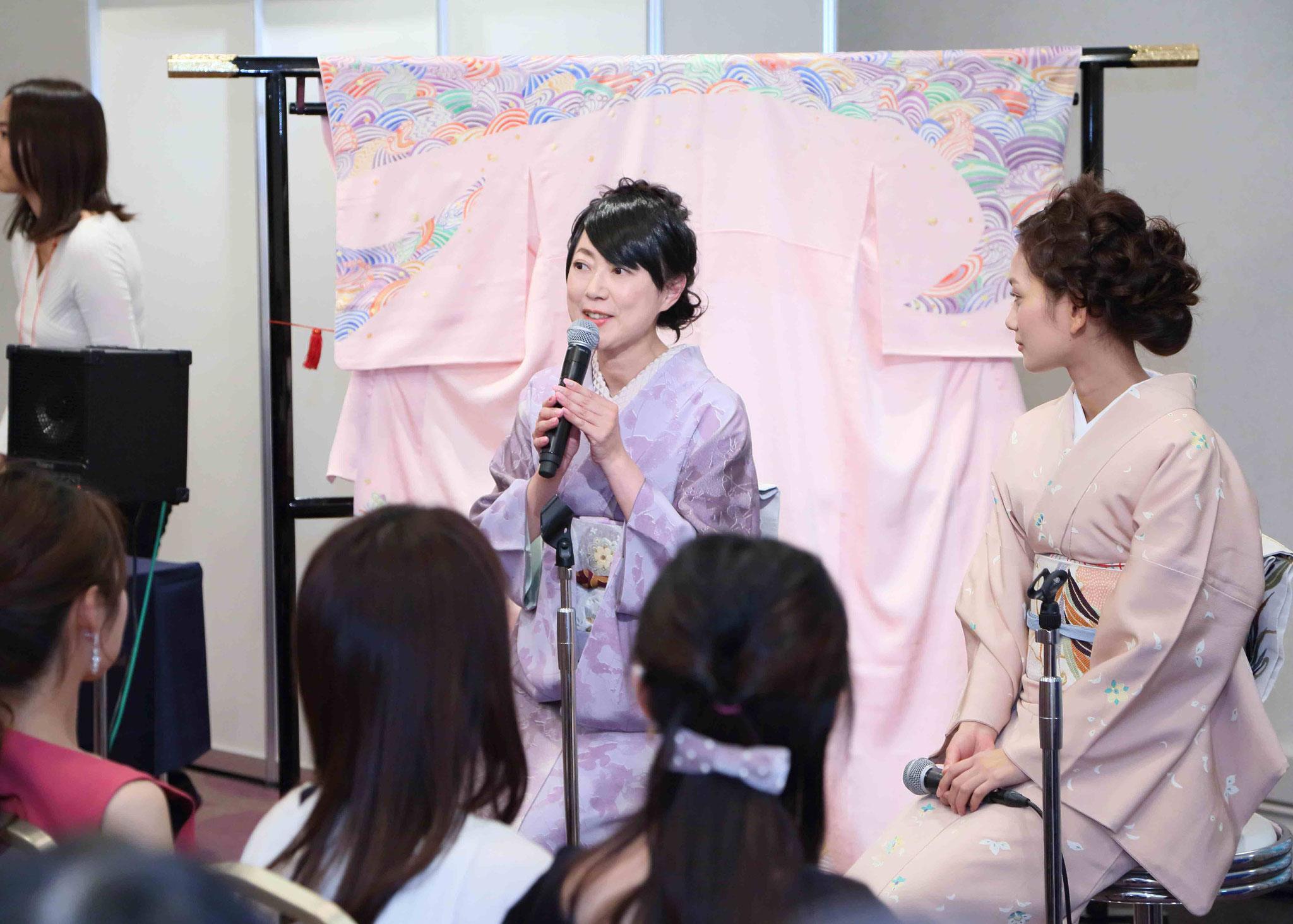 『オズモール30歳パーティー』トークショー登壇・共演はモデル武智志穂さん・2016年11月30日