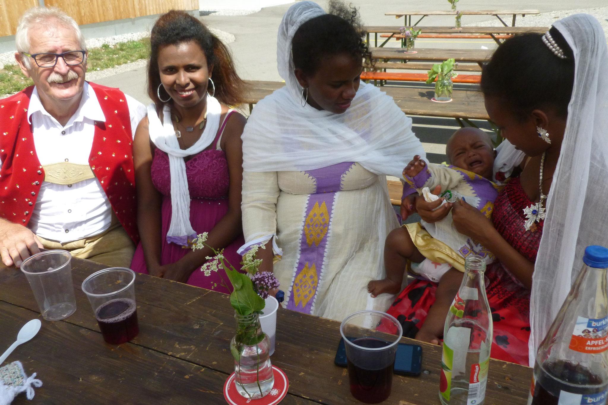 Sommerfest in der Flüchtlingsunterkunft