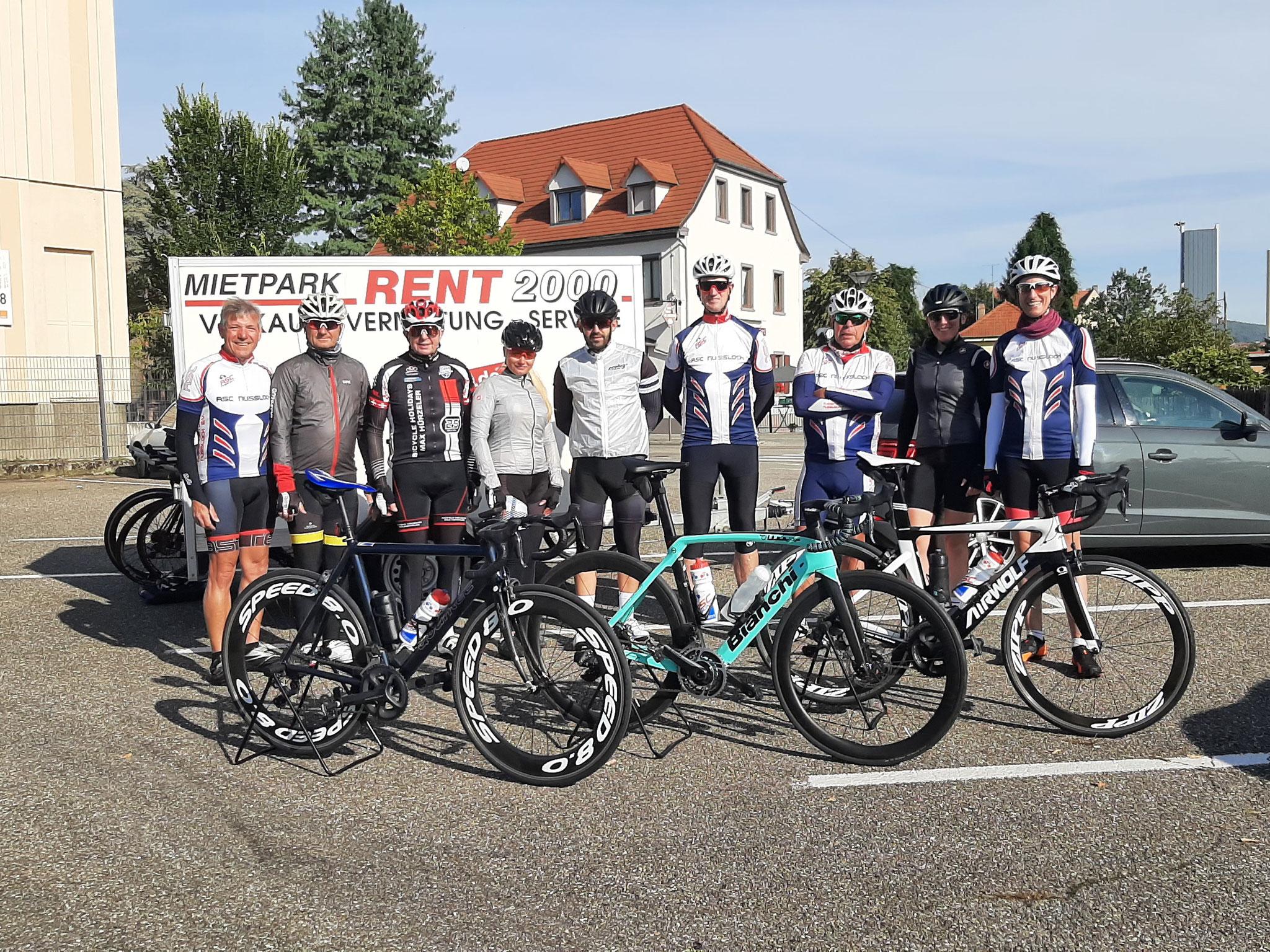 September -2- 2021 - RSC Wissembourg Tour u.a. mit Peter Wimmer