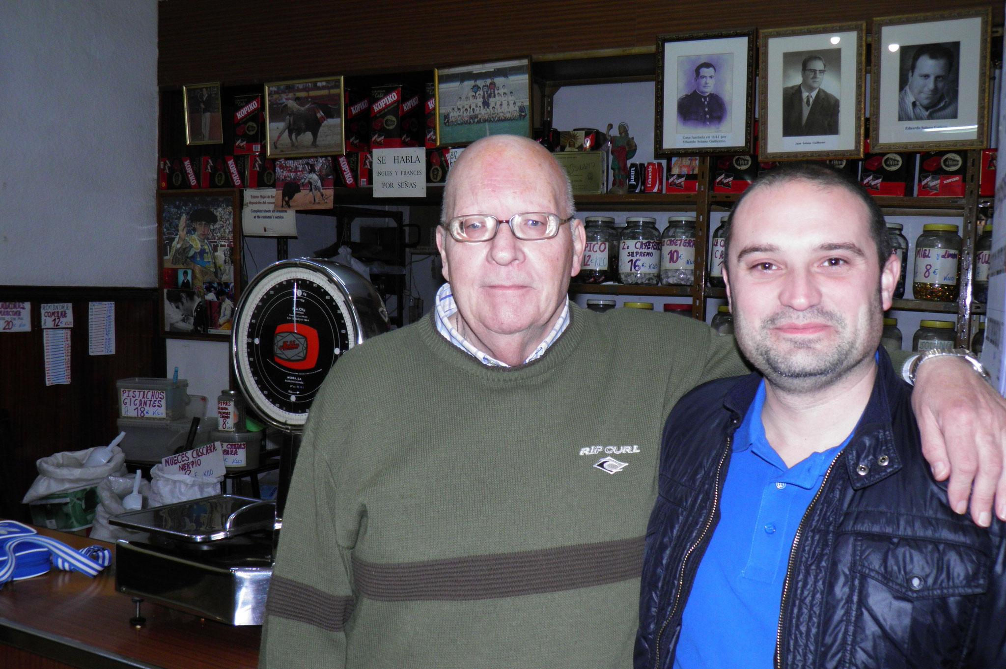 Juan Solano y su sobrino Oscar