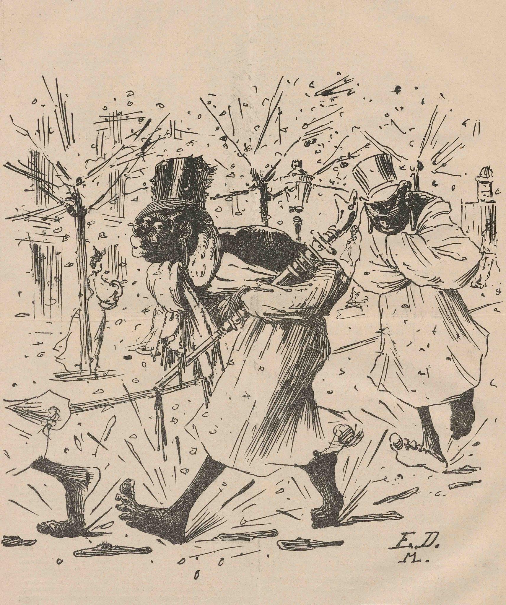 Nebelspalter-Illustration, 1893