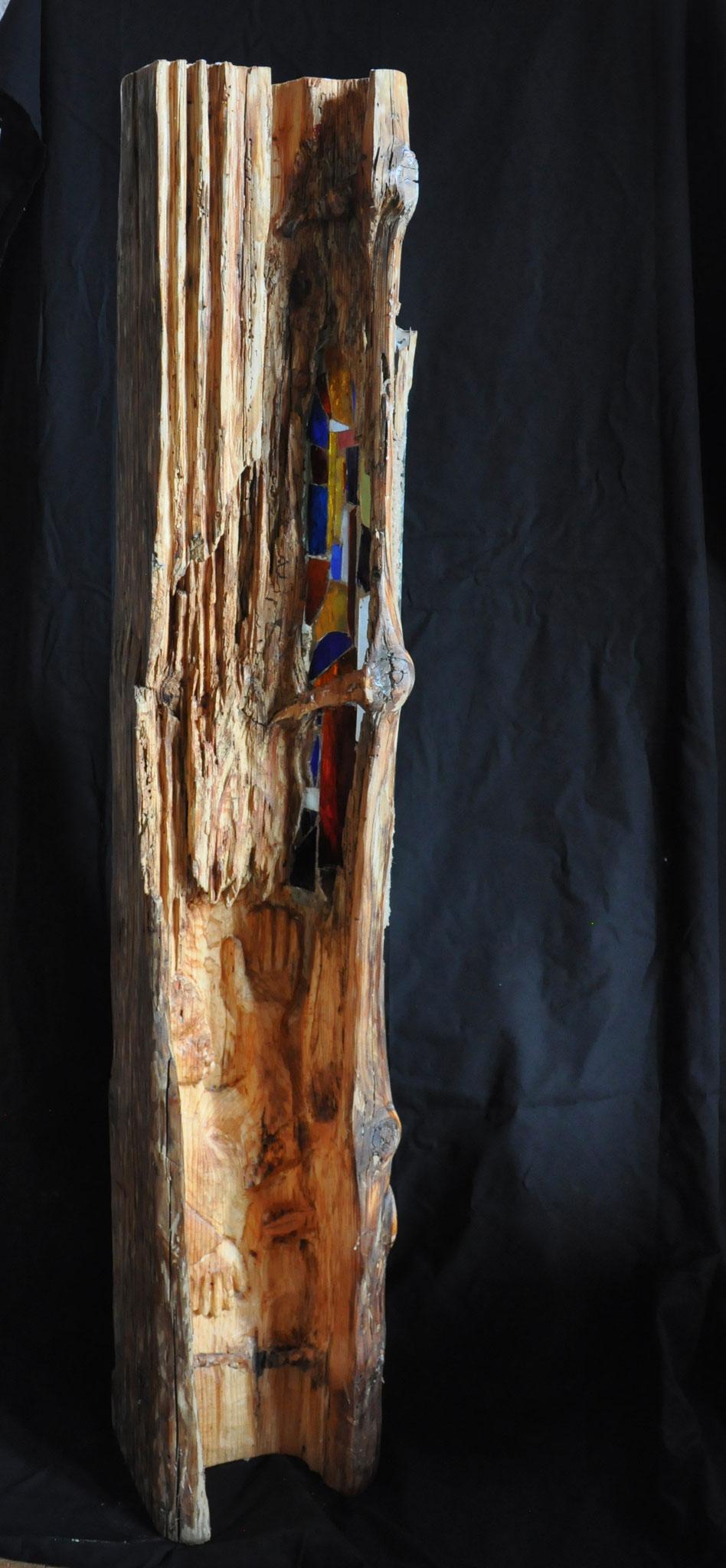 BERUFUNG  (Tanne/Fichte  159 x 26 x 19 cm)