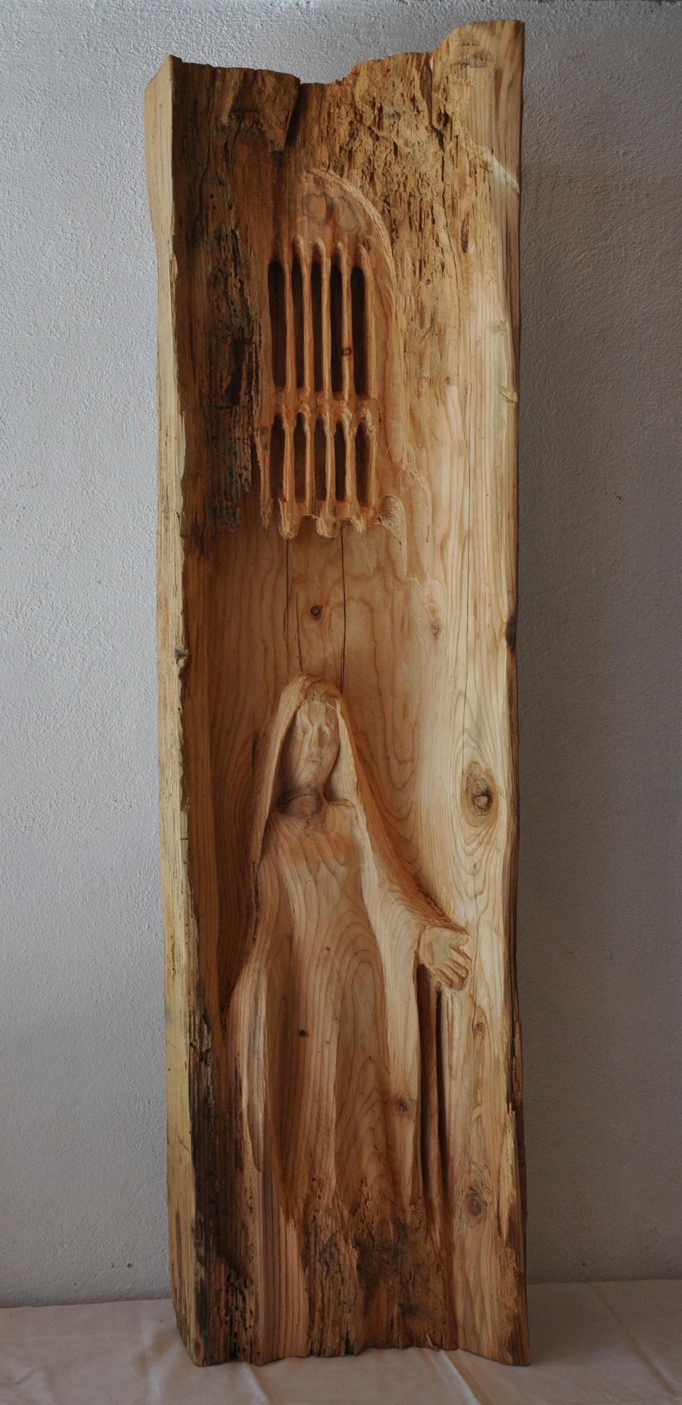 KOMM  (Fichte/Tanne  110 x 29 x 19 cm)