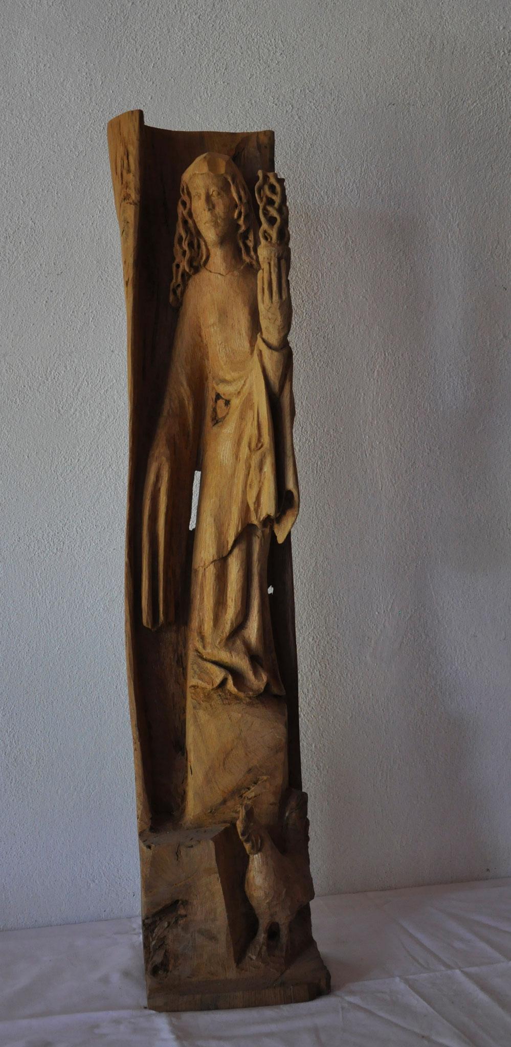 WACHET  (Eiche  82 x 18 x 12 cm)
