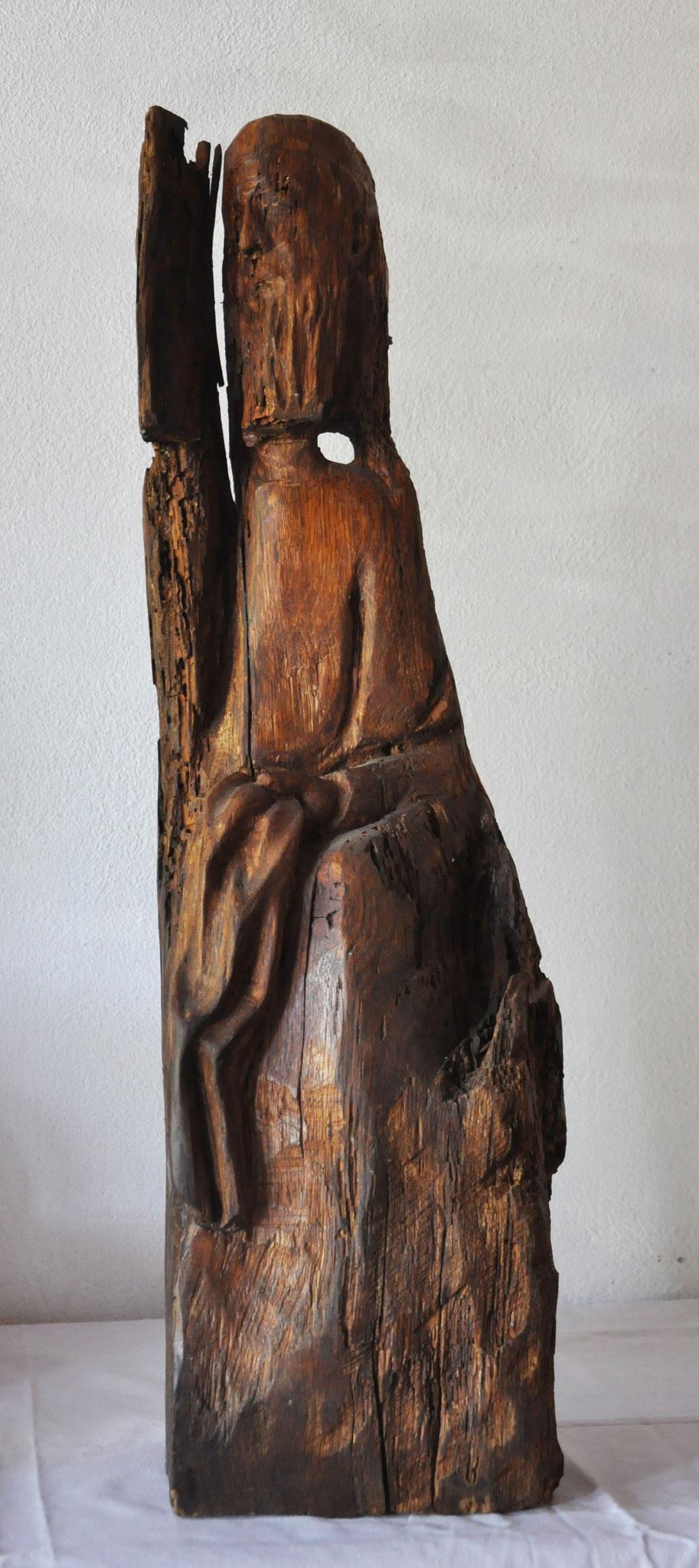 CONFESSIO  (Eiche  73 x 21 x 12 cm)
