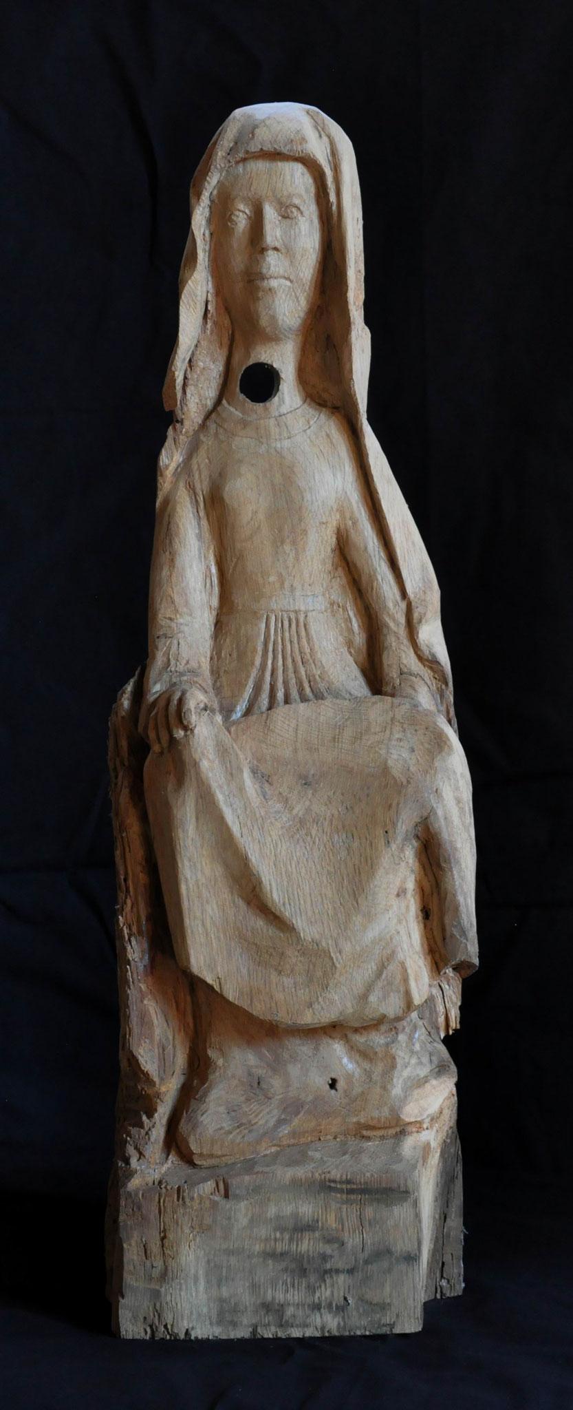 VERONIKA  (Eiche  72 x 21 x 13 cm)