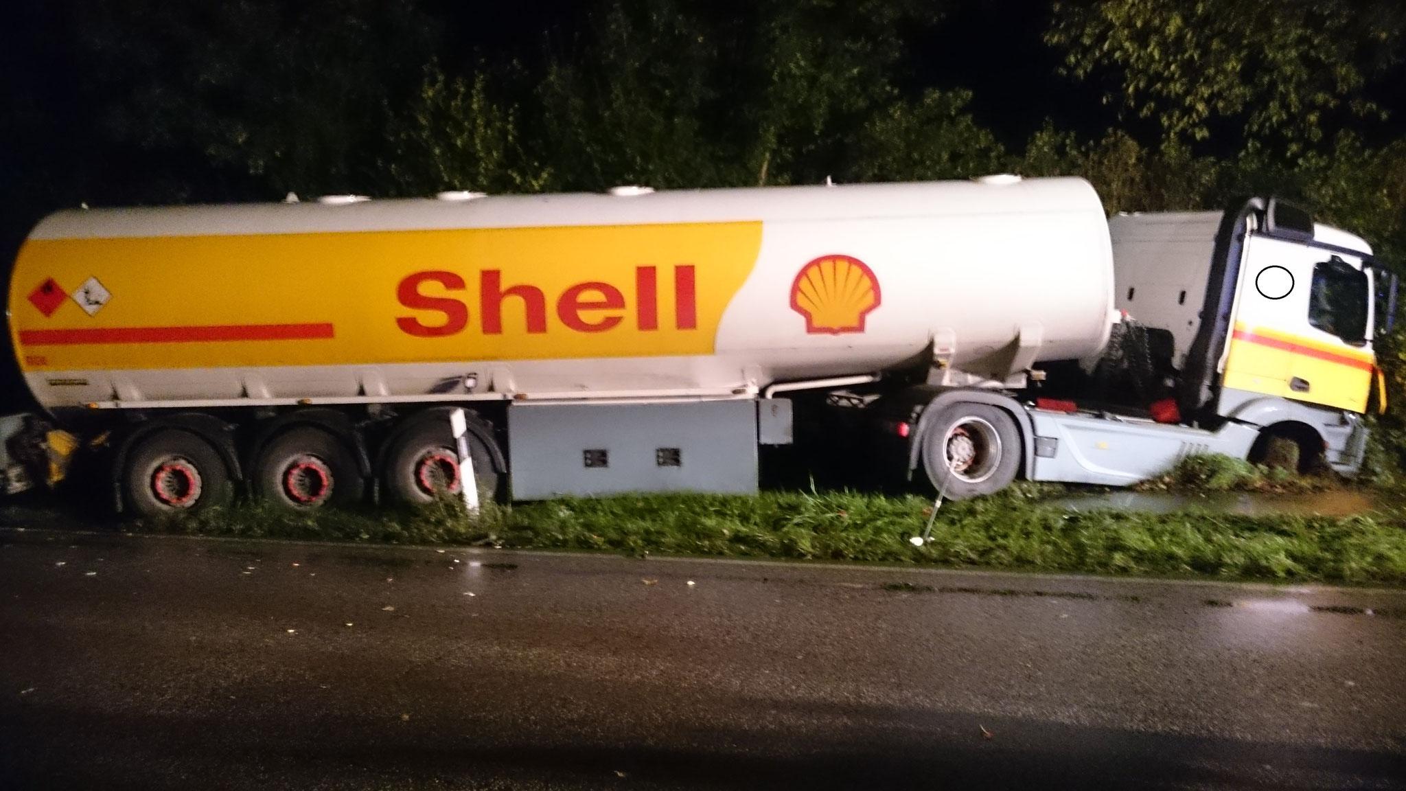 Einsatz: Verkehrsunfall B430 - Feuerwehr-Wasbek.de