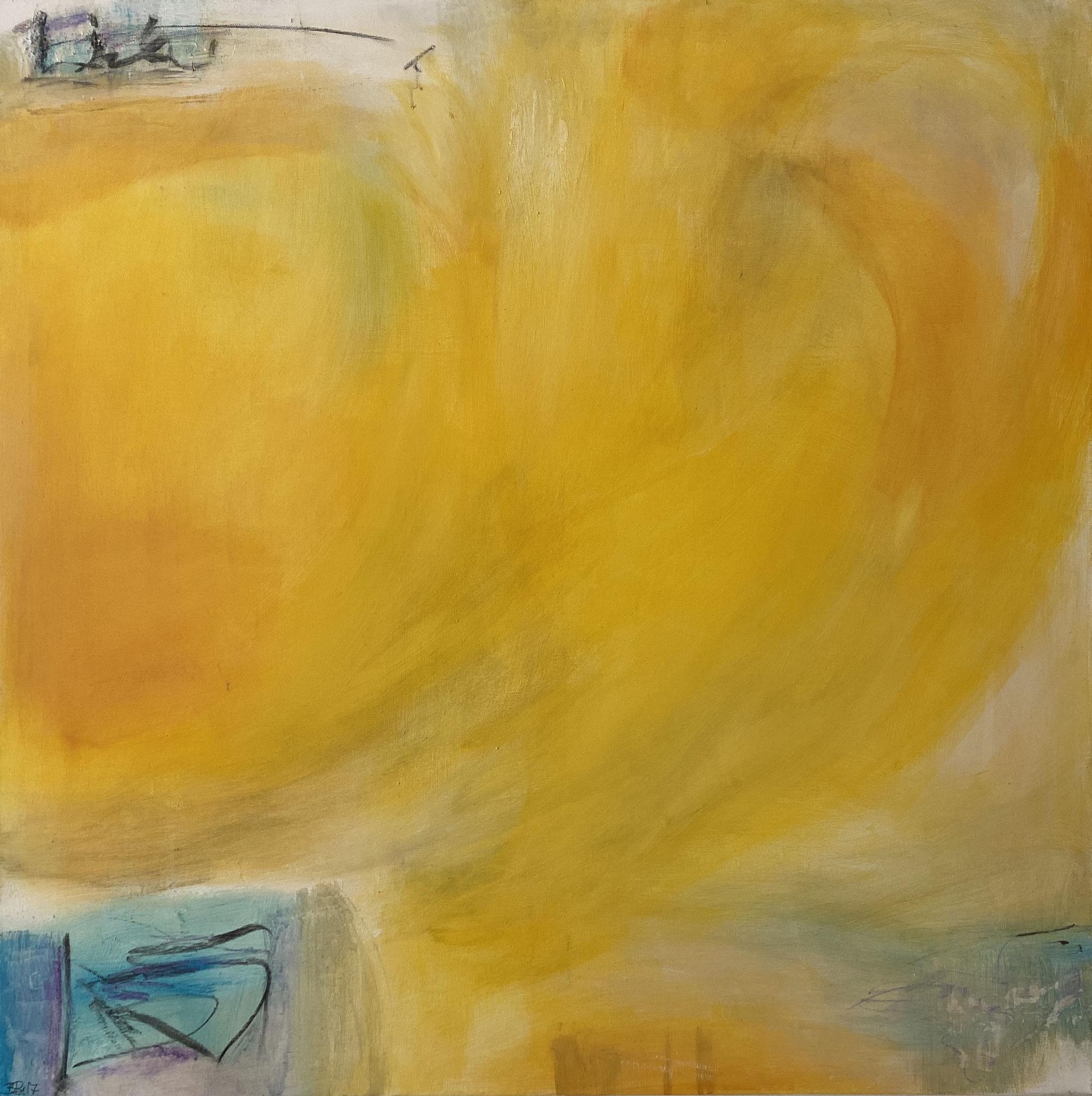 Ohne Titel | 100 x 100 cm | Acryl auf Leinwand | 2018