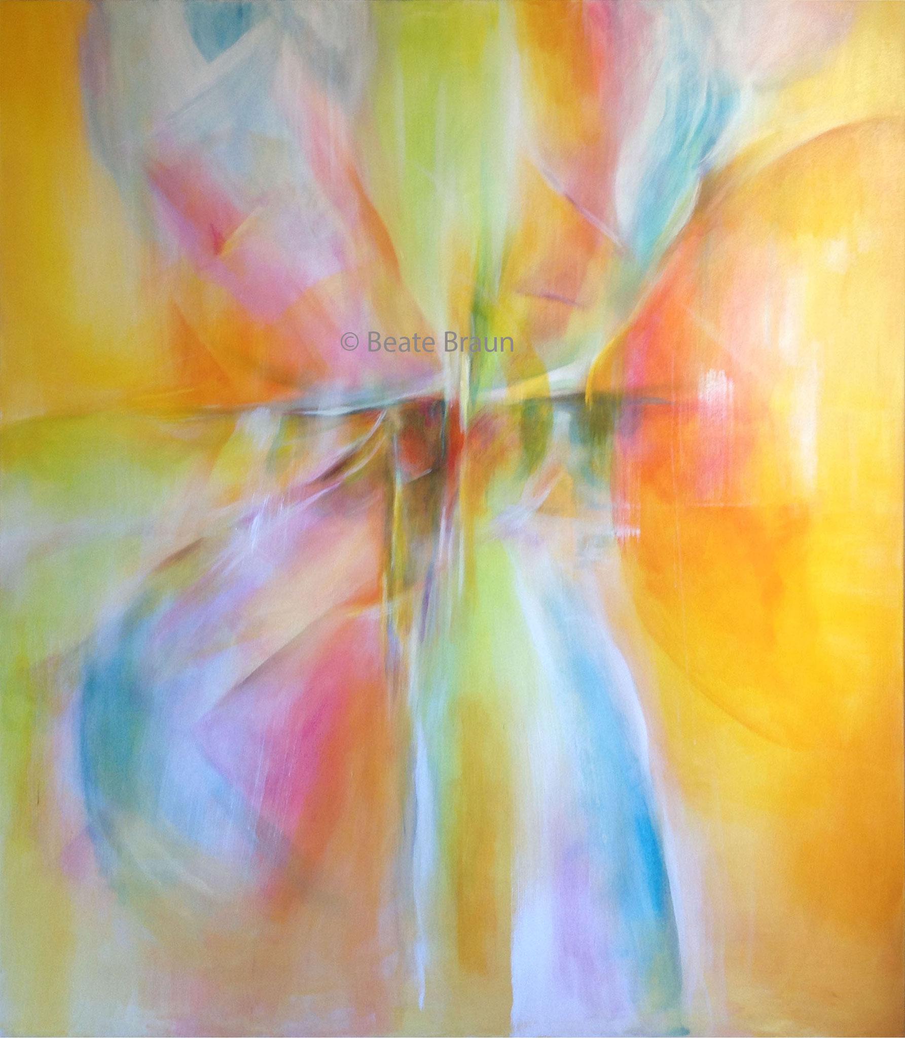 Große Symphonie  |  160 x 200cm  |  Acryl auf Leinwand | 2017