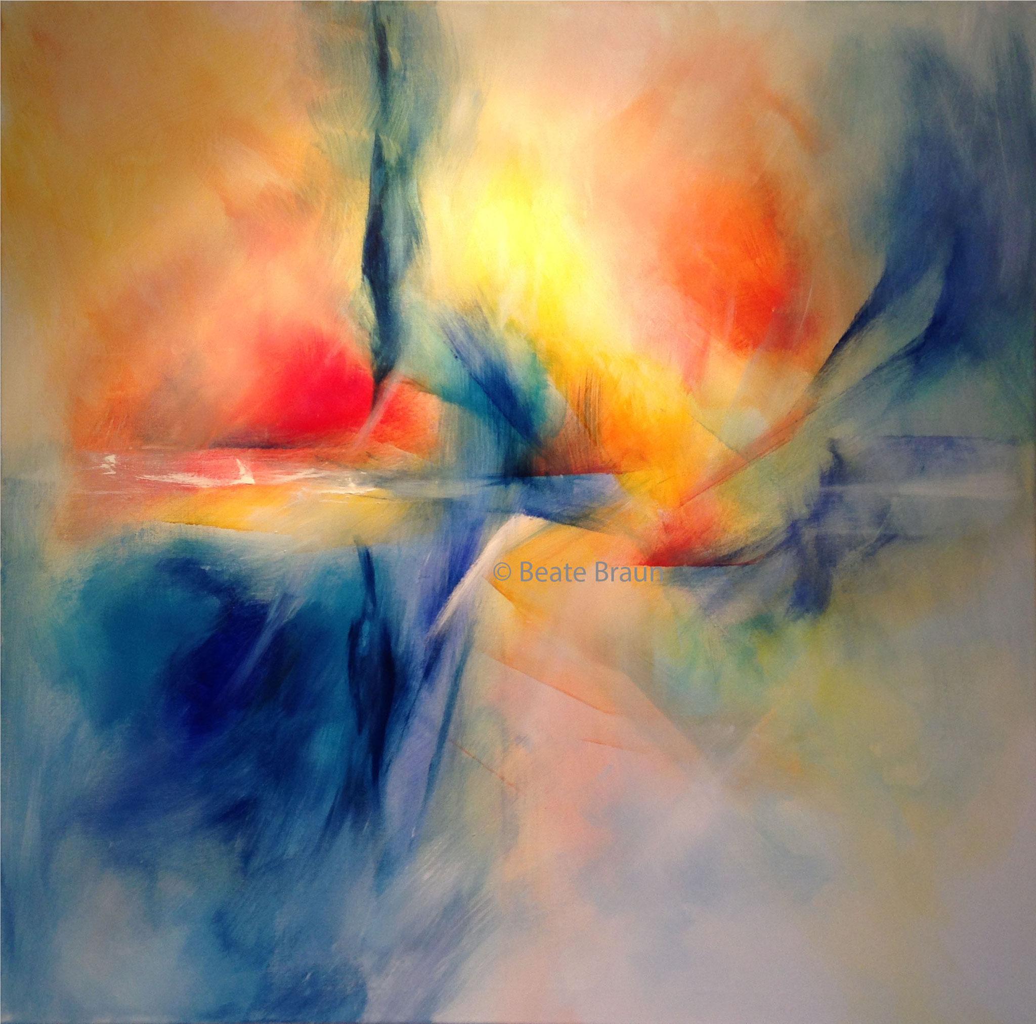 Weite | 100 x 100cm | Acryl auf Leinwand | 2017