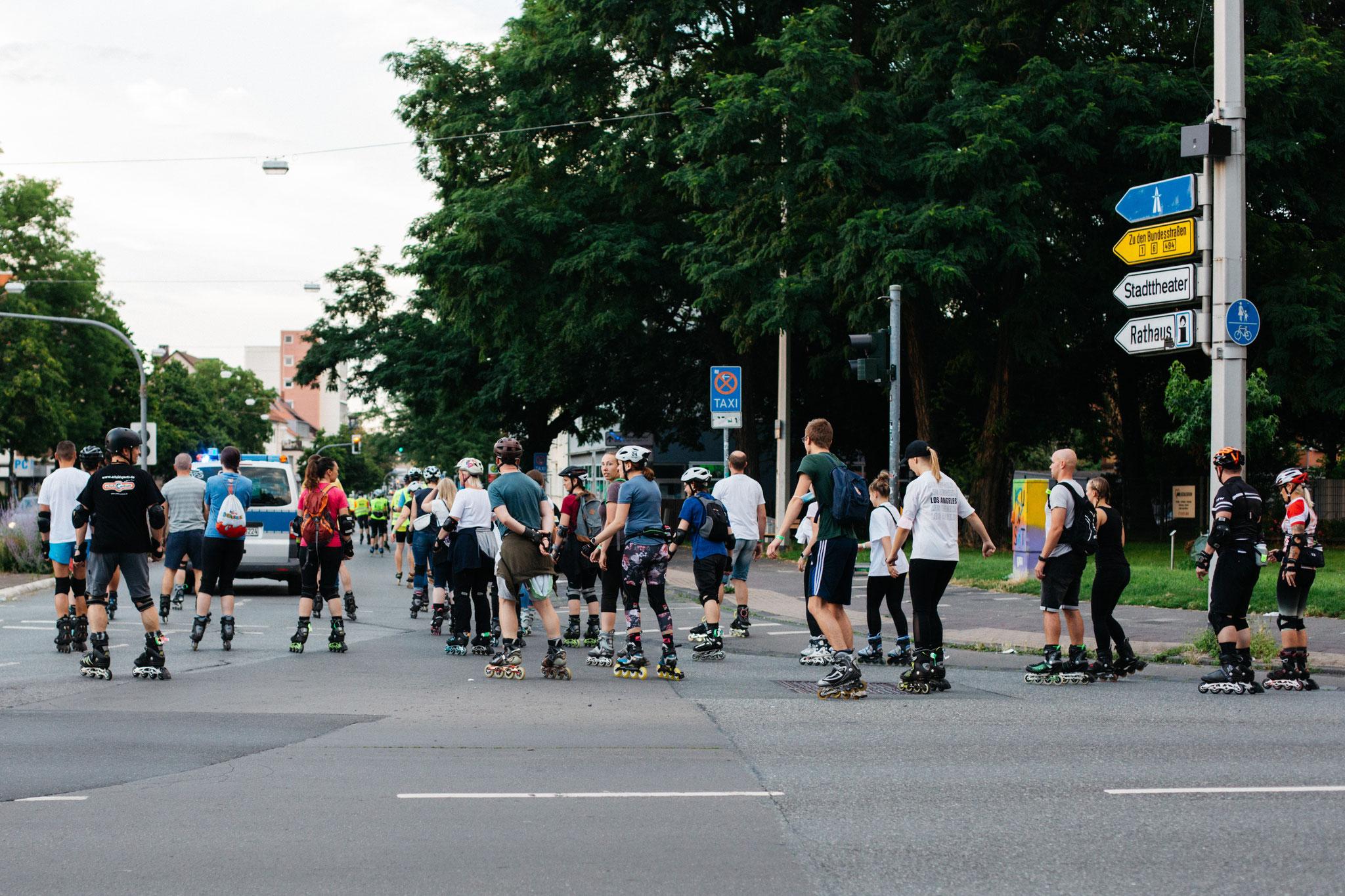 15.7.21, Skate by Night, Hildesheim. Foto Larissa Alija