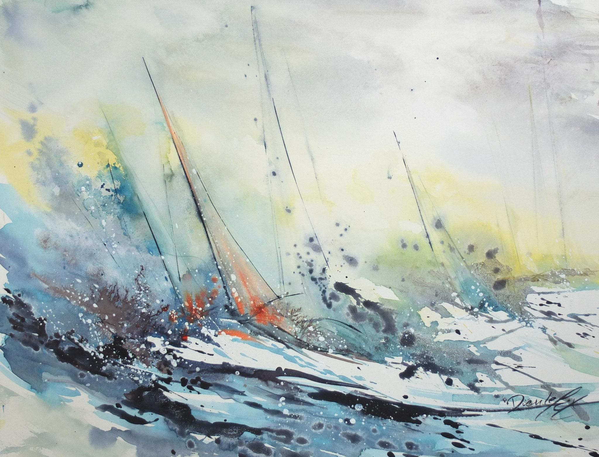 """""""Contre vents et marées"""""""