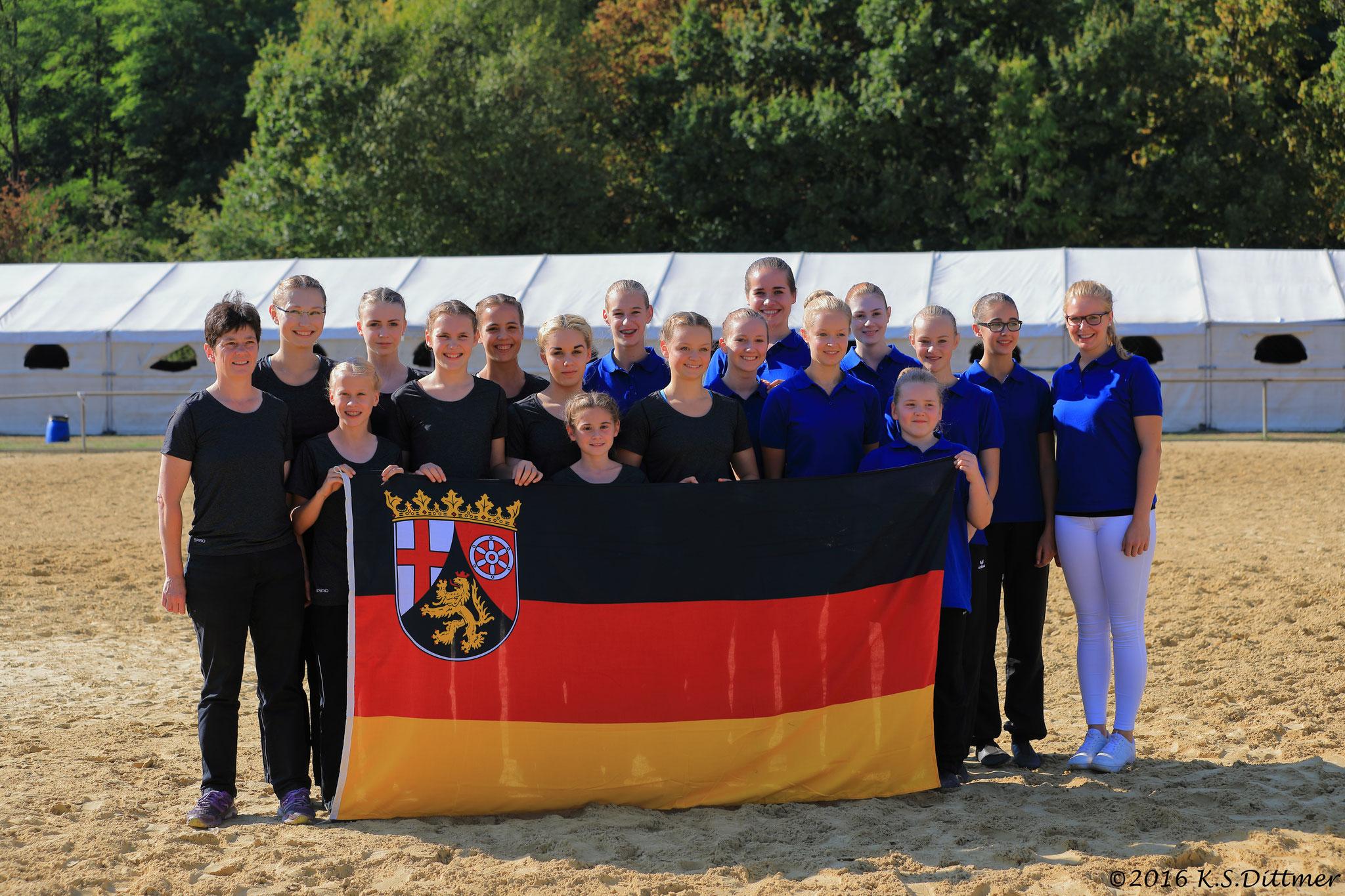 5-Ländervergleichswettkampf Heiligenwald 2016 - L-Gruppe Bad Ems 1 und A-Gruppe Bad Ems 2