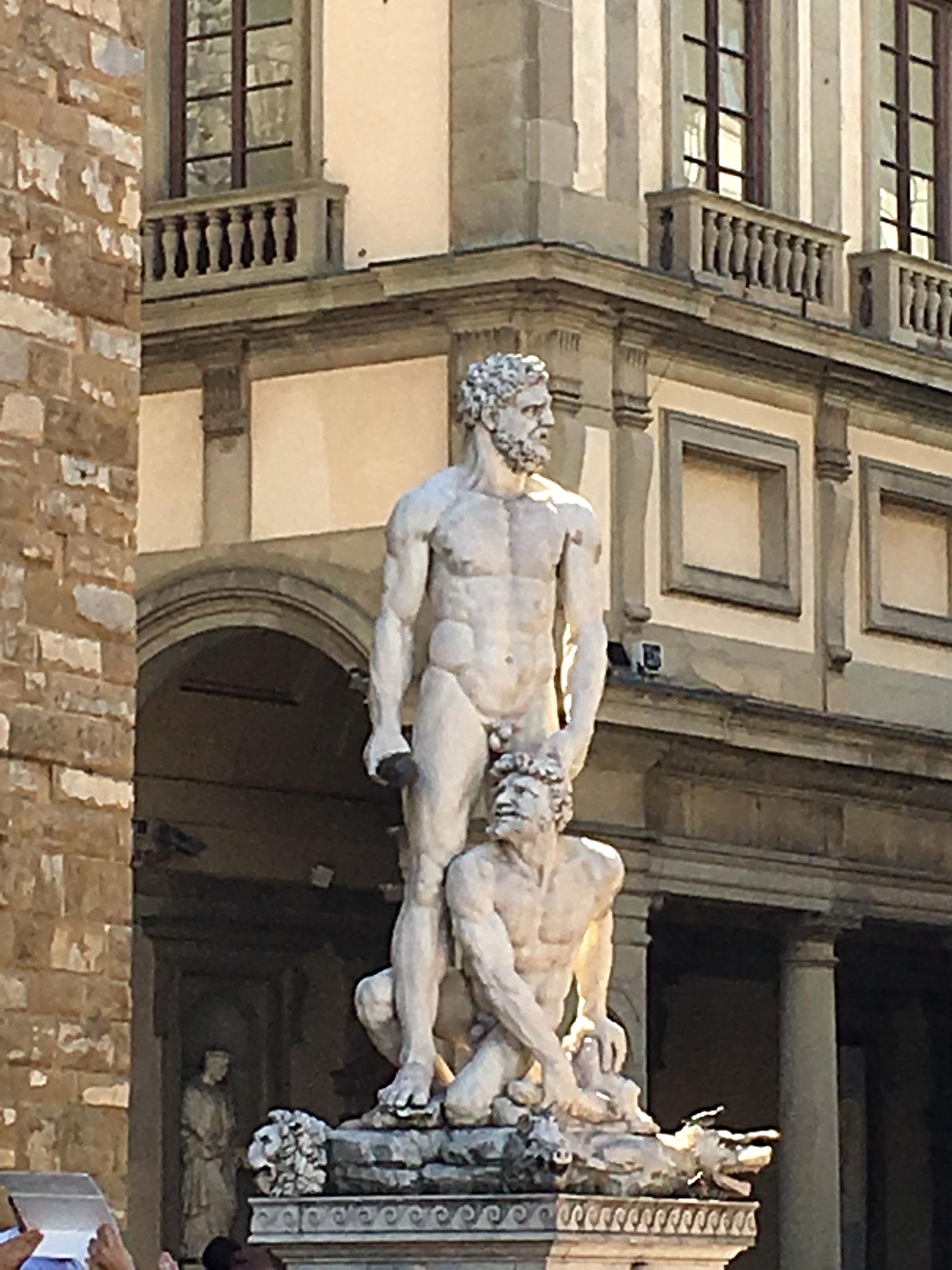 Herkules und Cacus