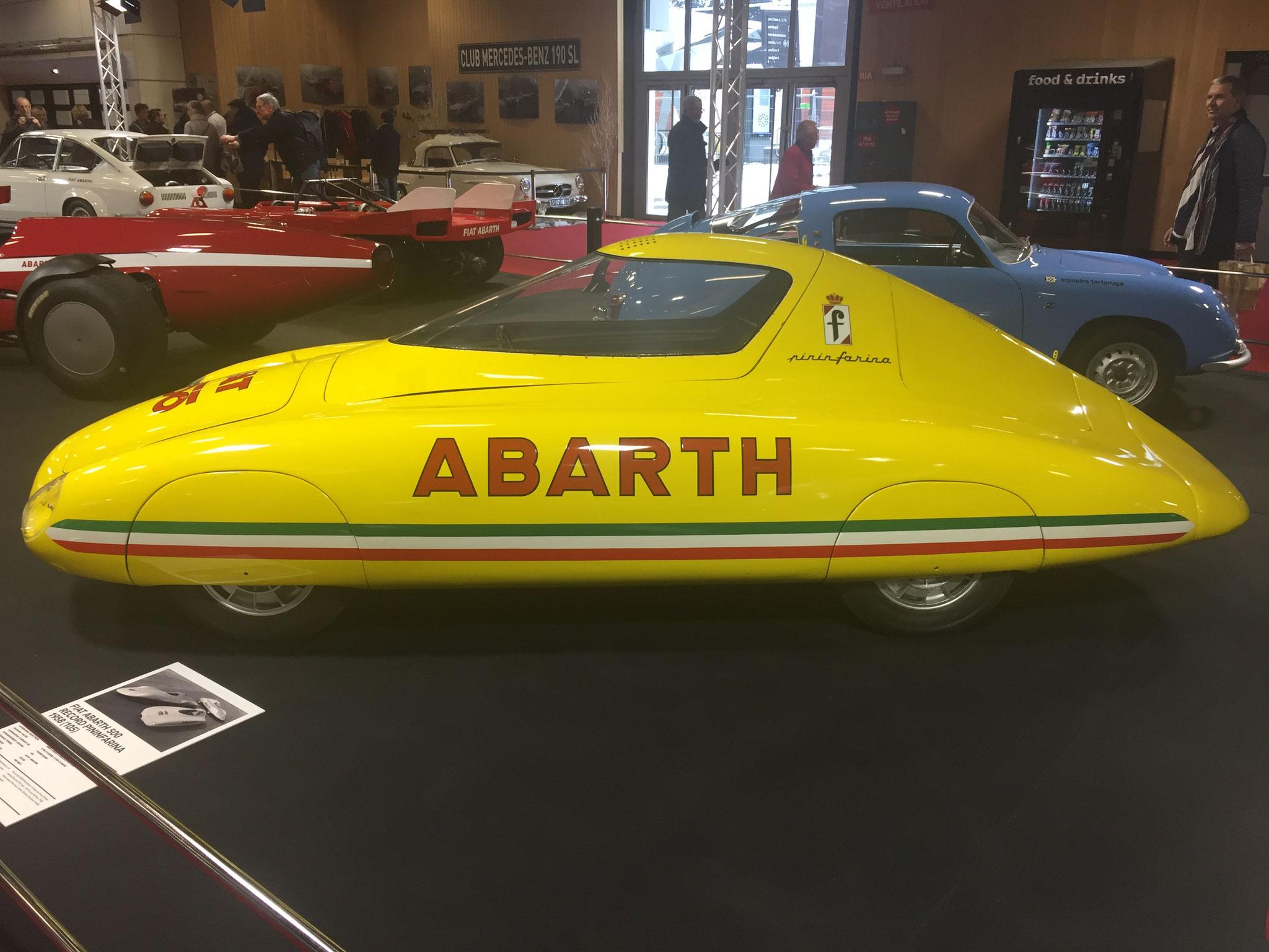 FIAT ABARTH 500 RECORD PININFARINA (1958)